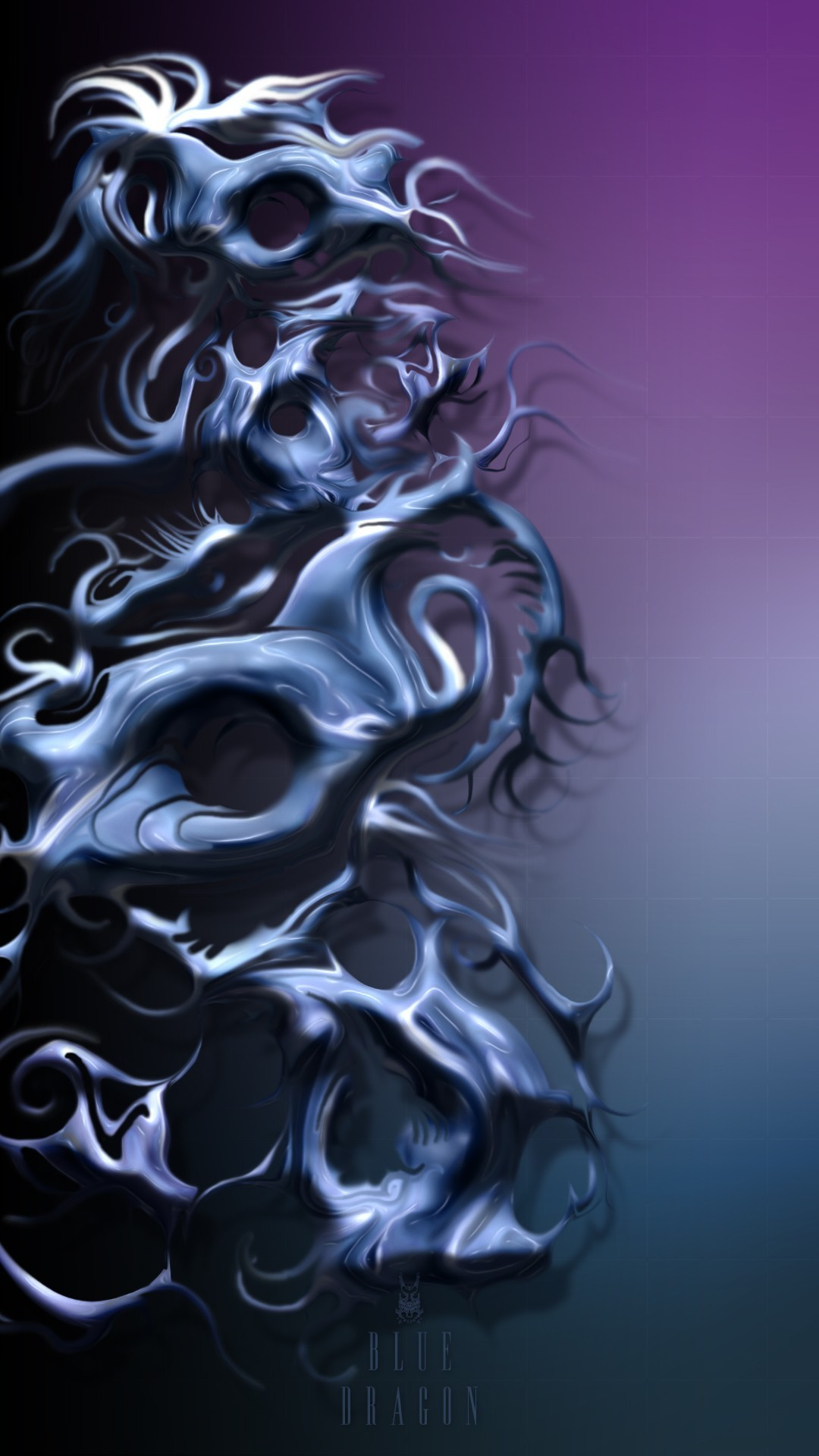 Blue dragon iphone wallpapers texture HD
