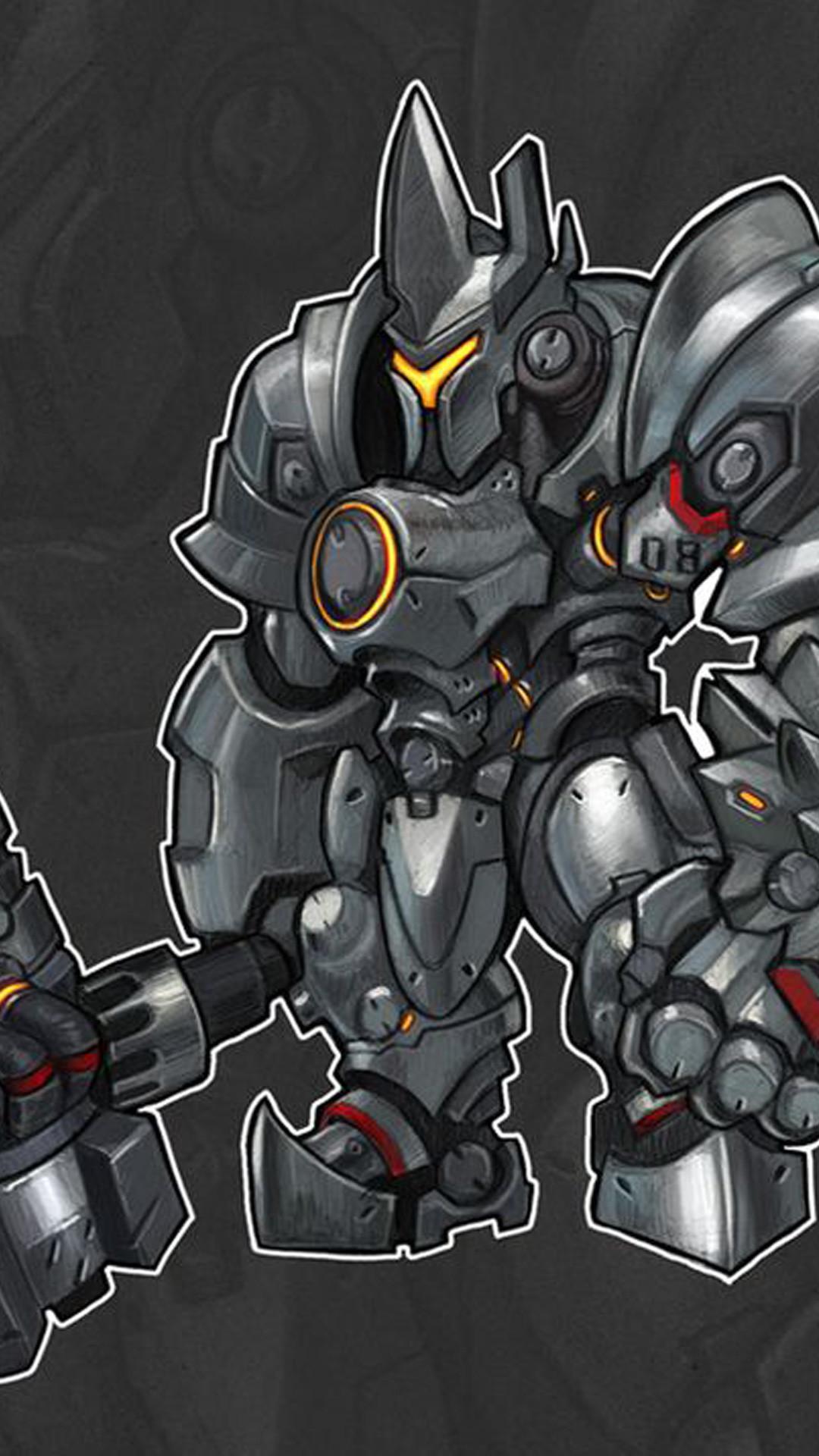 Reinhardt Dragon Slayer Overwatch iphone wallpapers Reinhardt Dragon Slayer  Overwatch iphone wallpaper