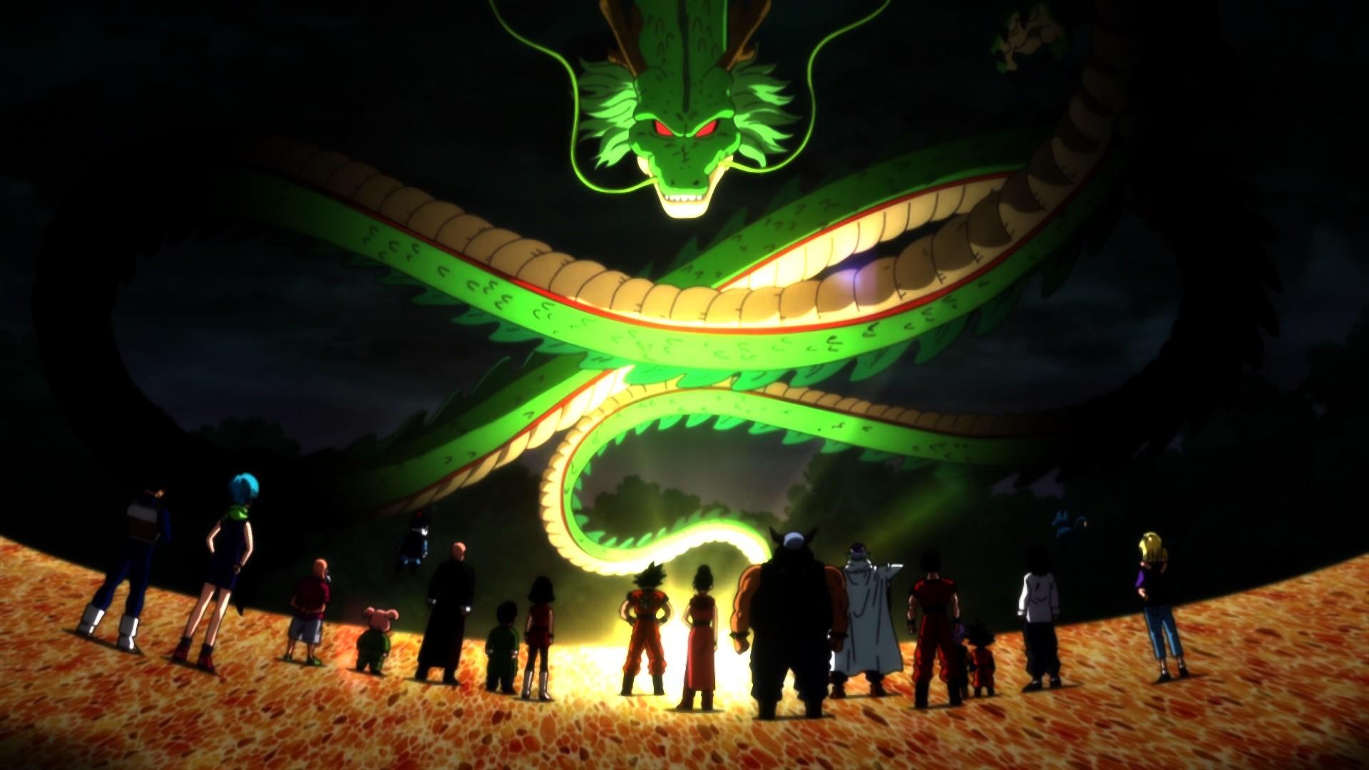 Shenron Dragon HD Wallpaper