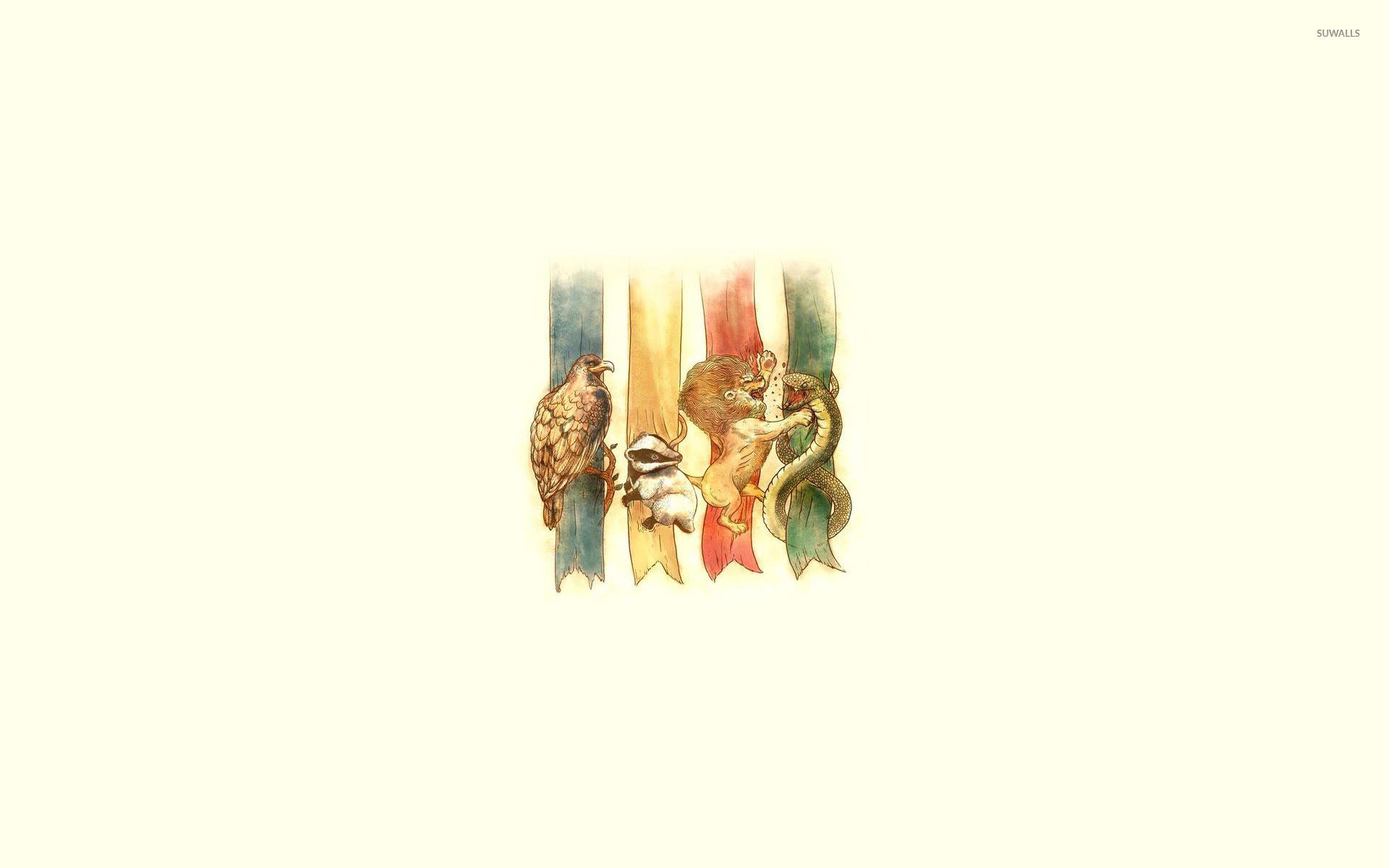 Hogwarts houses – Harry Potter wallpaper jpg