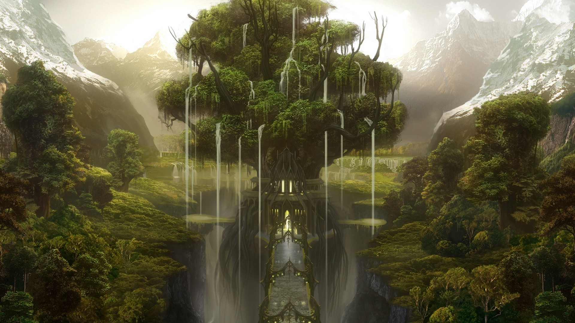 Fantasy Forest Wallpaper [1920 x 1080] …