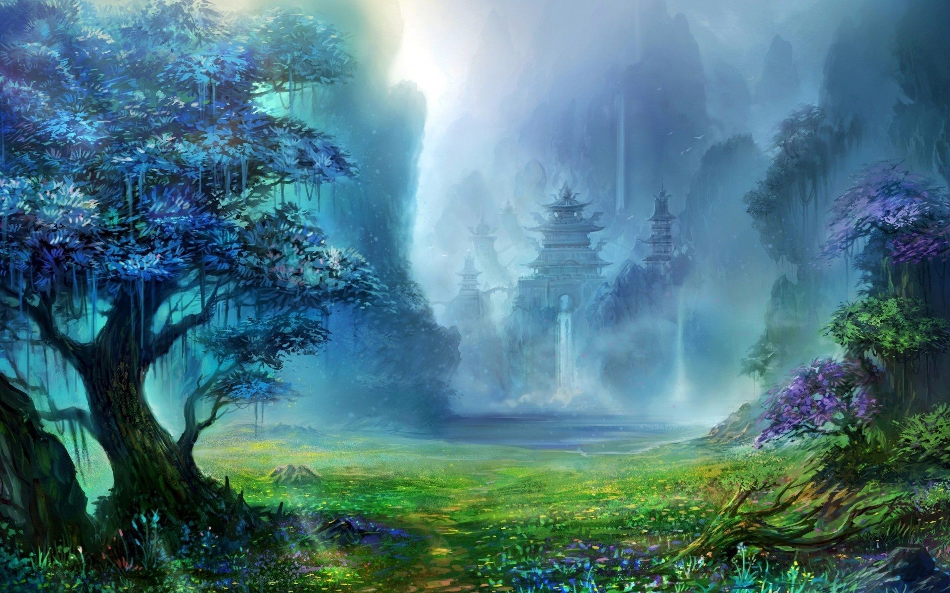 fantasy forest wallpaper high quality resolution with wallpaper hd  resolution on fantasy category similar with black