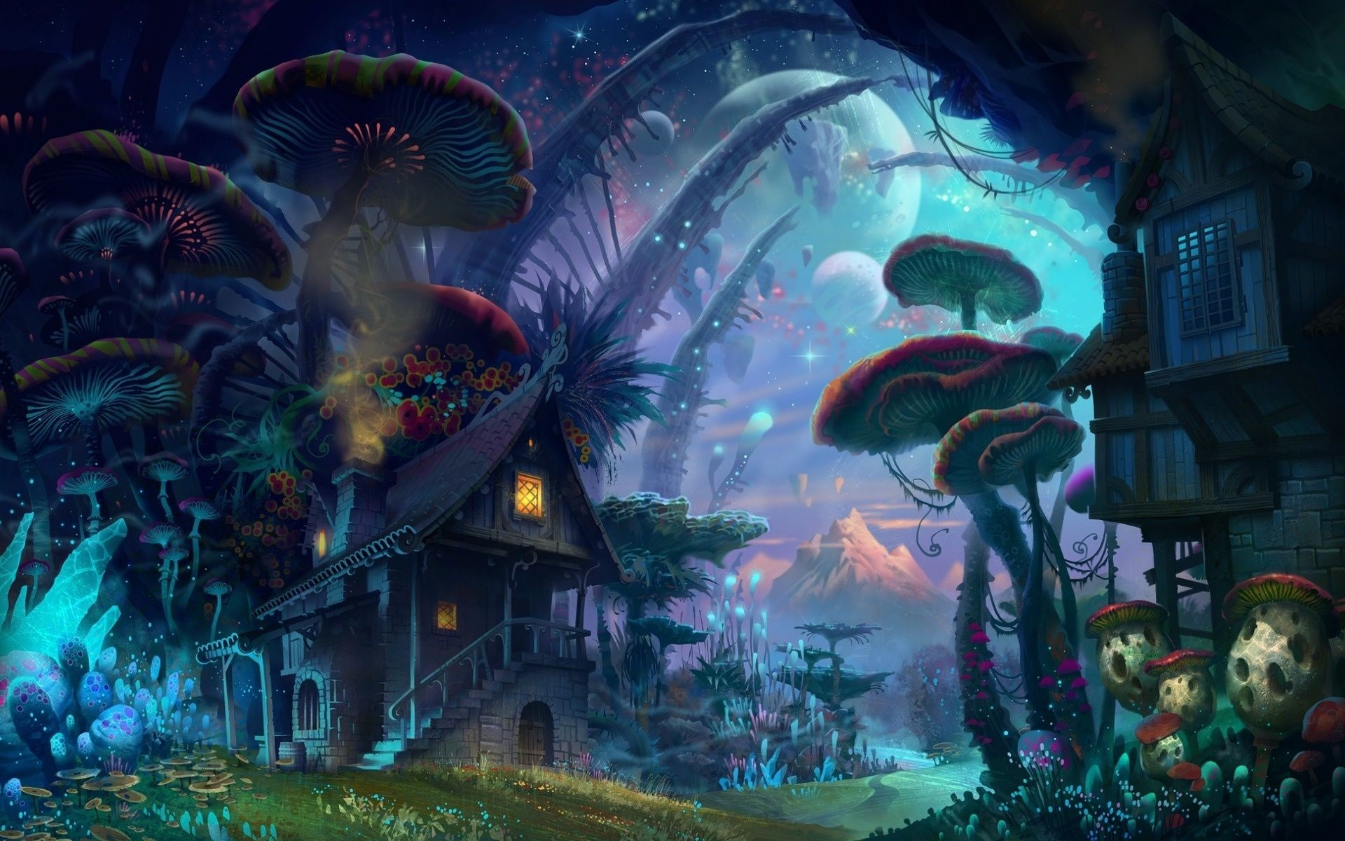 Masp Ideas (Floting Islands, Magic Forest) [Archive] – Paladins: Champions  of the Realm