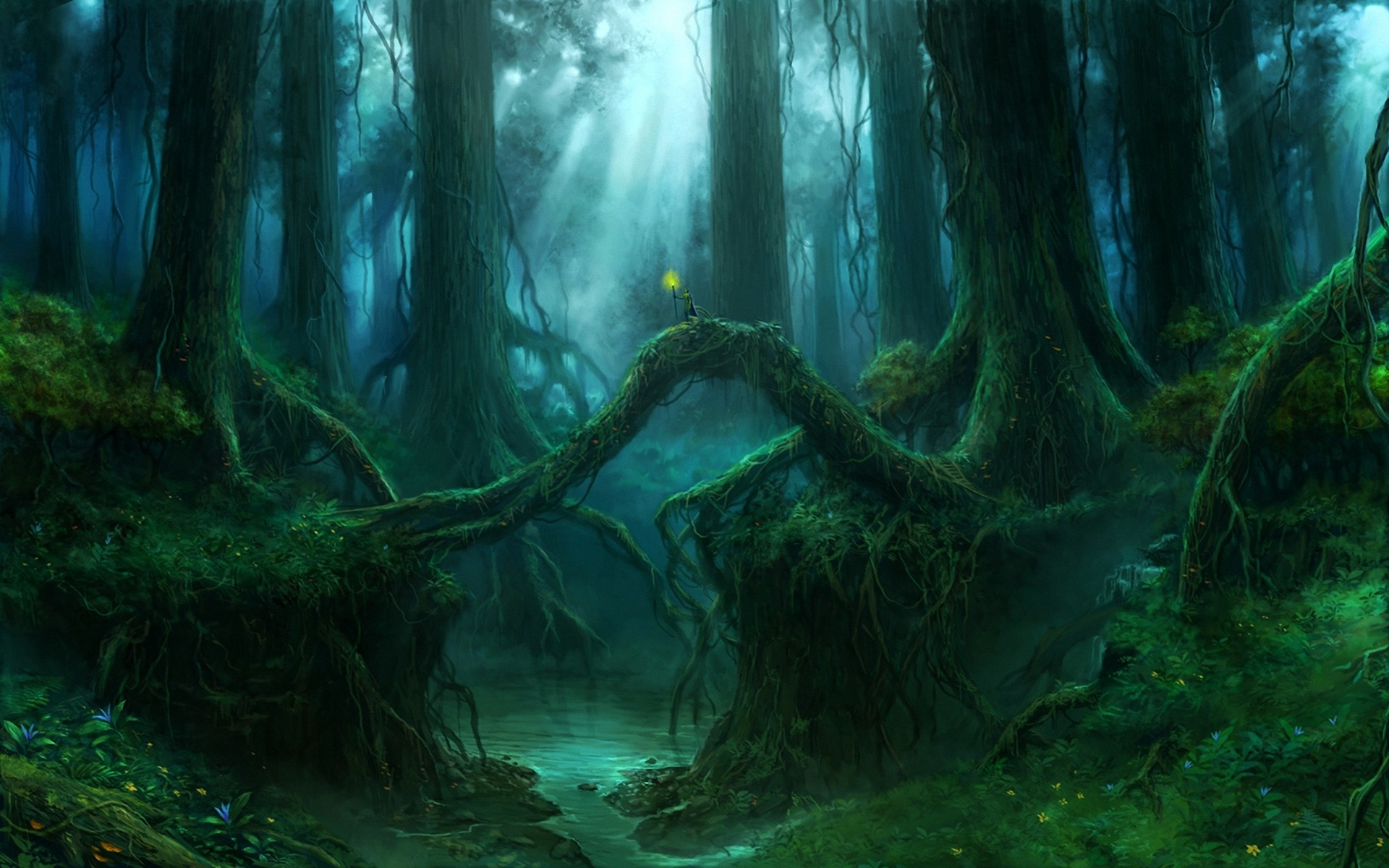 Fantasy – Forest – Wood Wallpaper