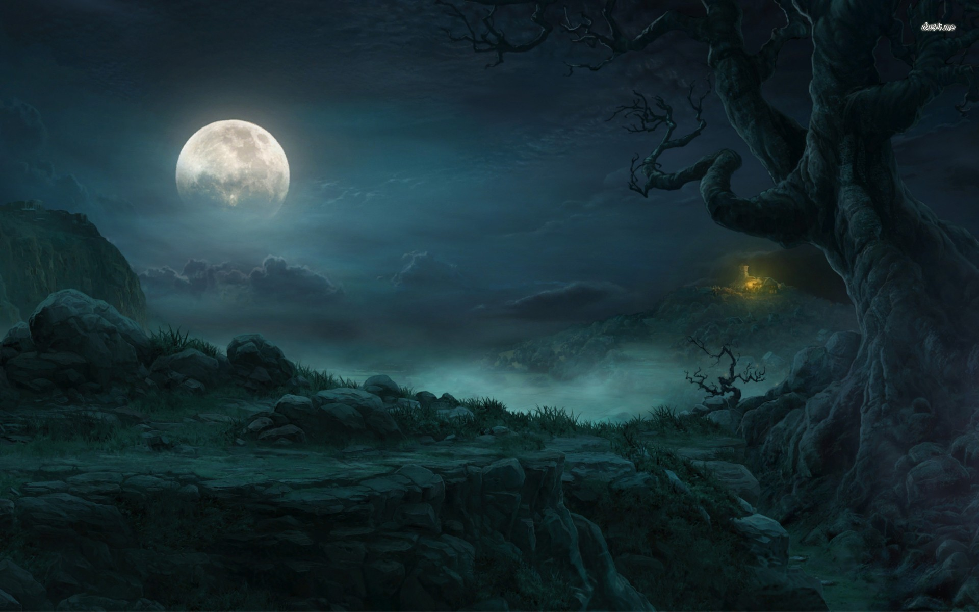Image – 13038-full-moon-in-the-forest-1920×1200-fantasy-wallpaper.jpg.2b4117be5352ca9046bcaff824ad60d0.jpg  | Animal Jam Clans Wiki | FANDOM powered by Wikia