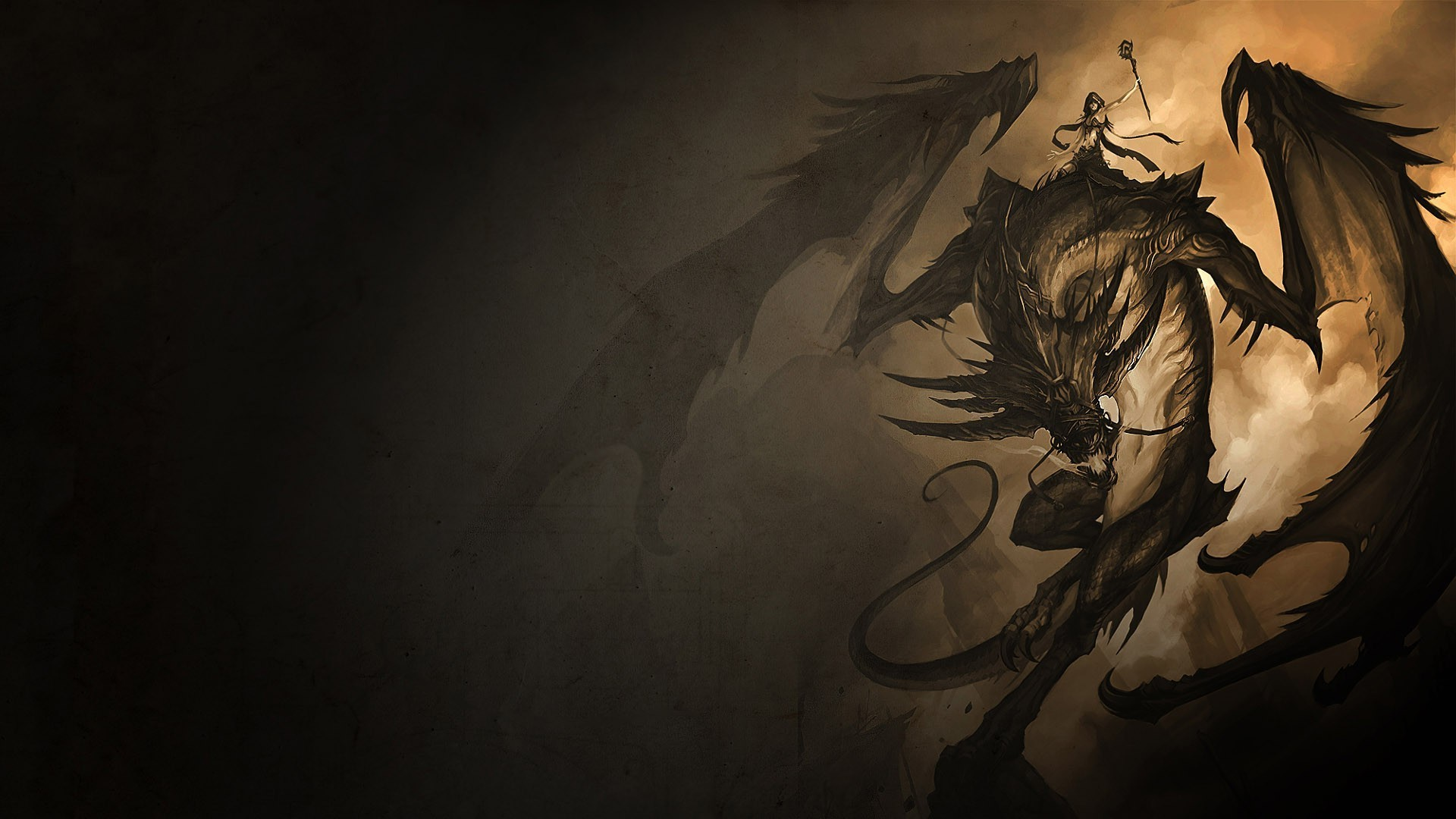 fantasy Art, Dragon Wallpaper HD