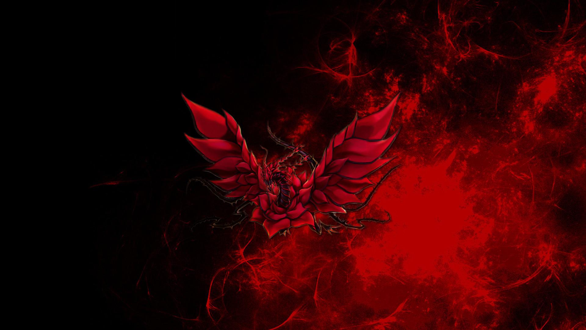 DeviantArt: More Like Black Rose Dragon Wallpaper by RJGiel