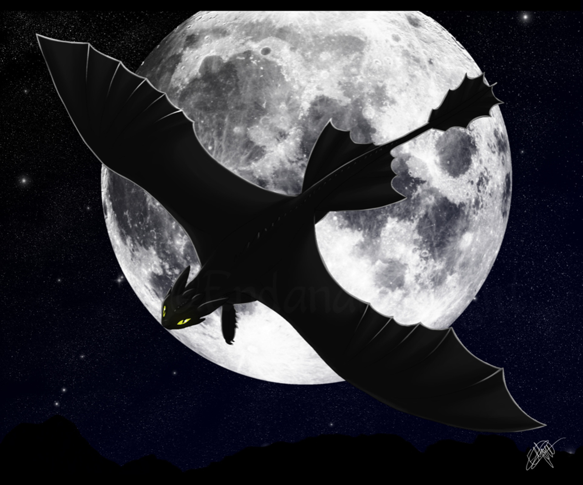 Toothless Nightfury How to Train Your Dragon 2 Character Wallpapers