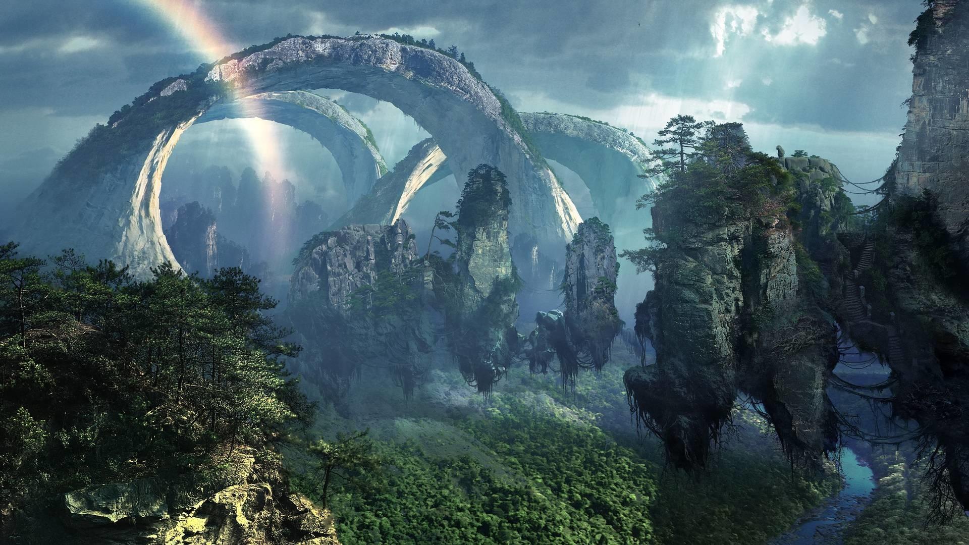 epic fantasy landscape wallpaper | vergapipe.