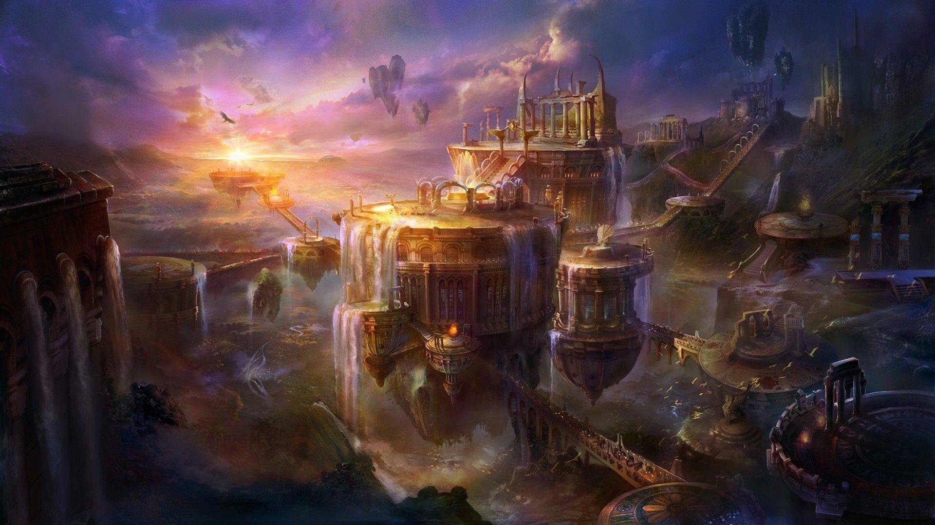 Epic Fantasy Wallpaper High Definition #hYqcA