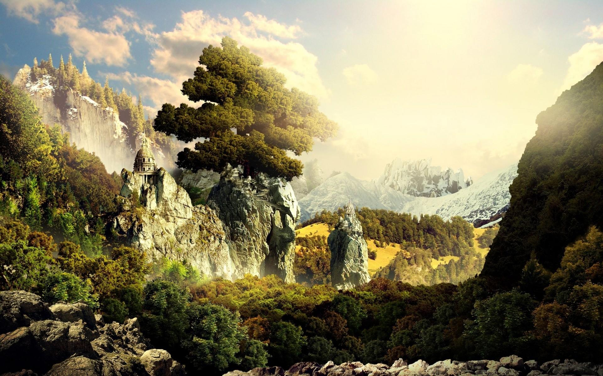 Epic Fantasy Landscape Wallpapers Epic fantasy l