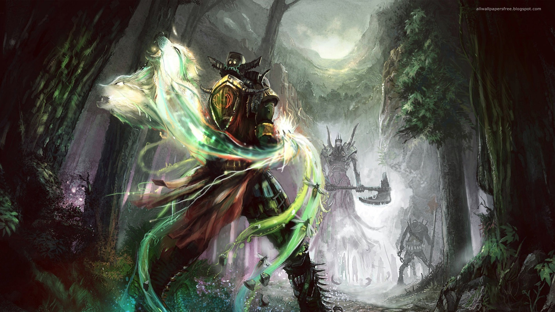 Fantasy – Warrior Wall… via image