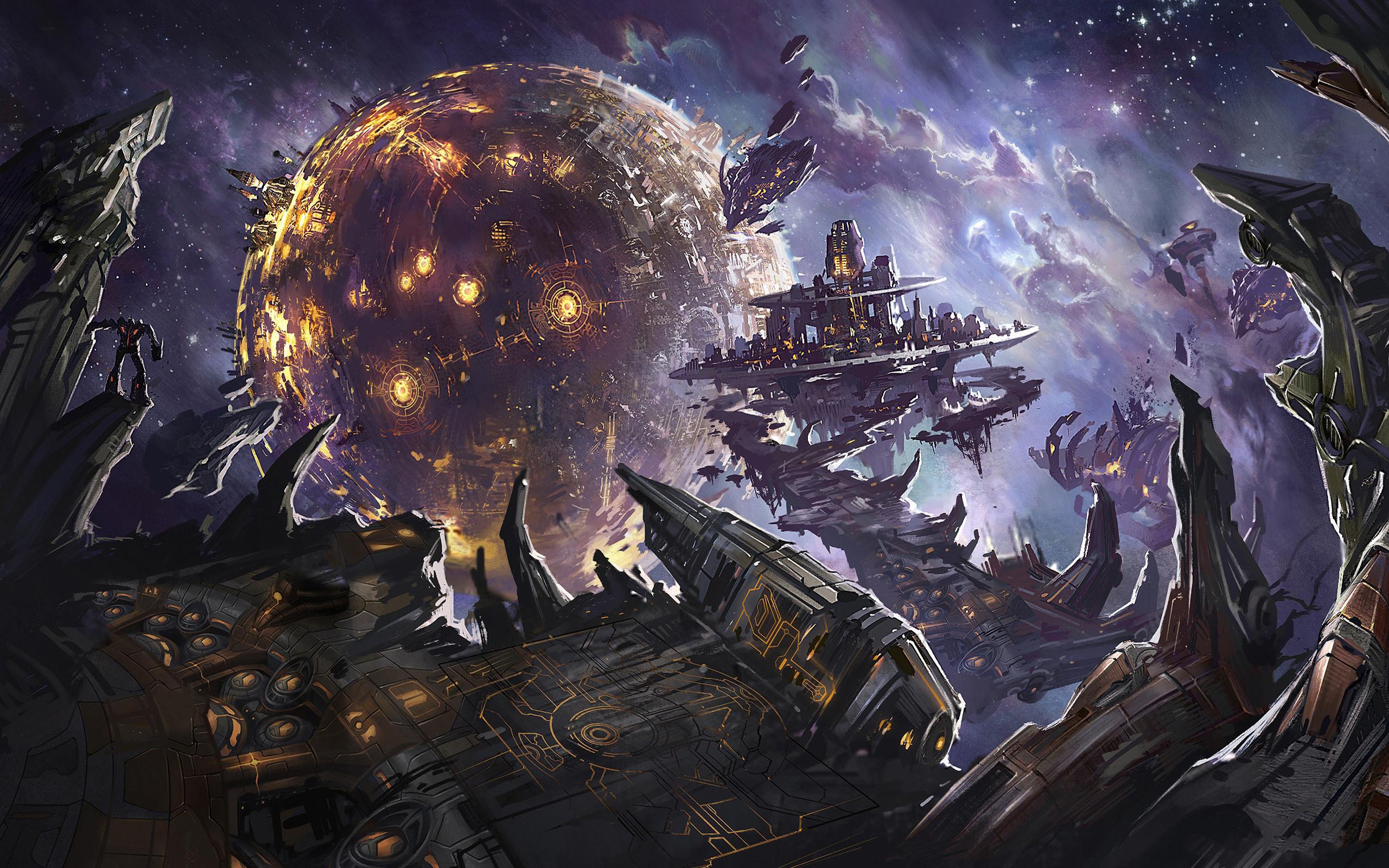 Space/Fantasy Wallpaper Set 89