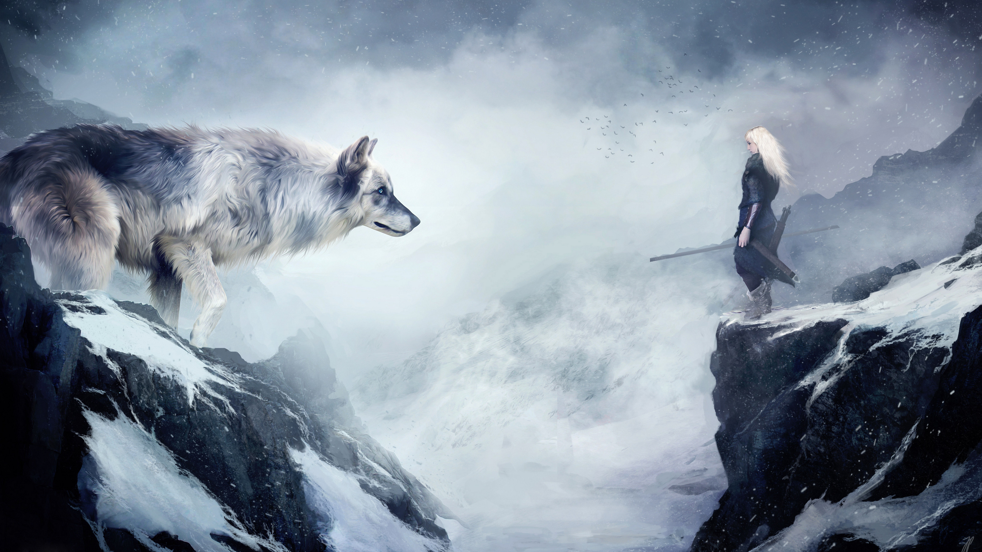 Epic Fantasy Music – The Wolf and the Moon