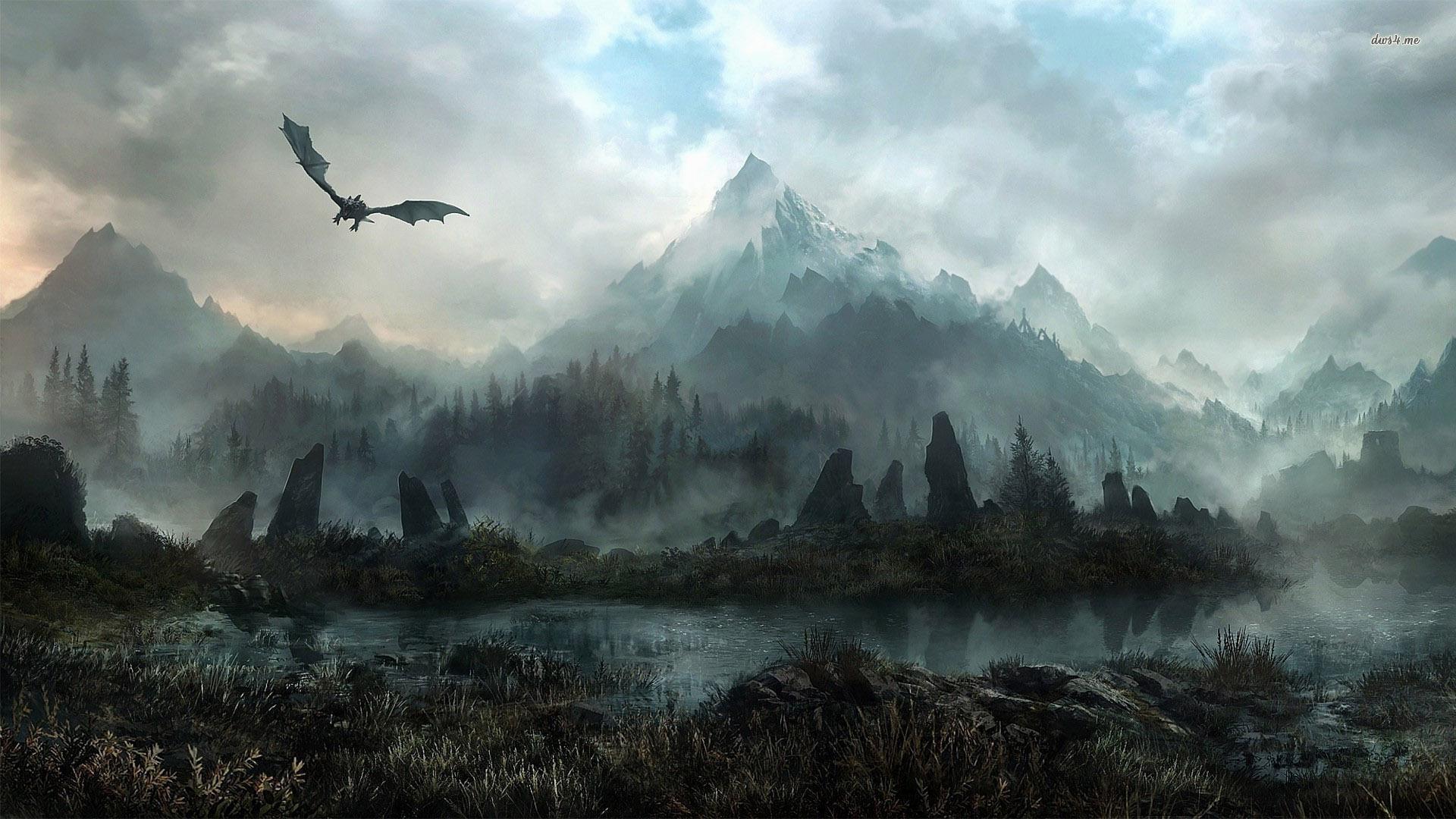 Skyrim-Wallpaper