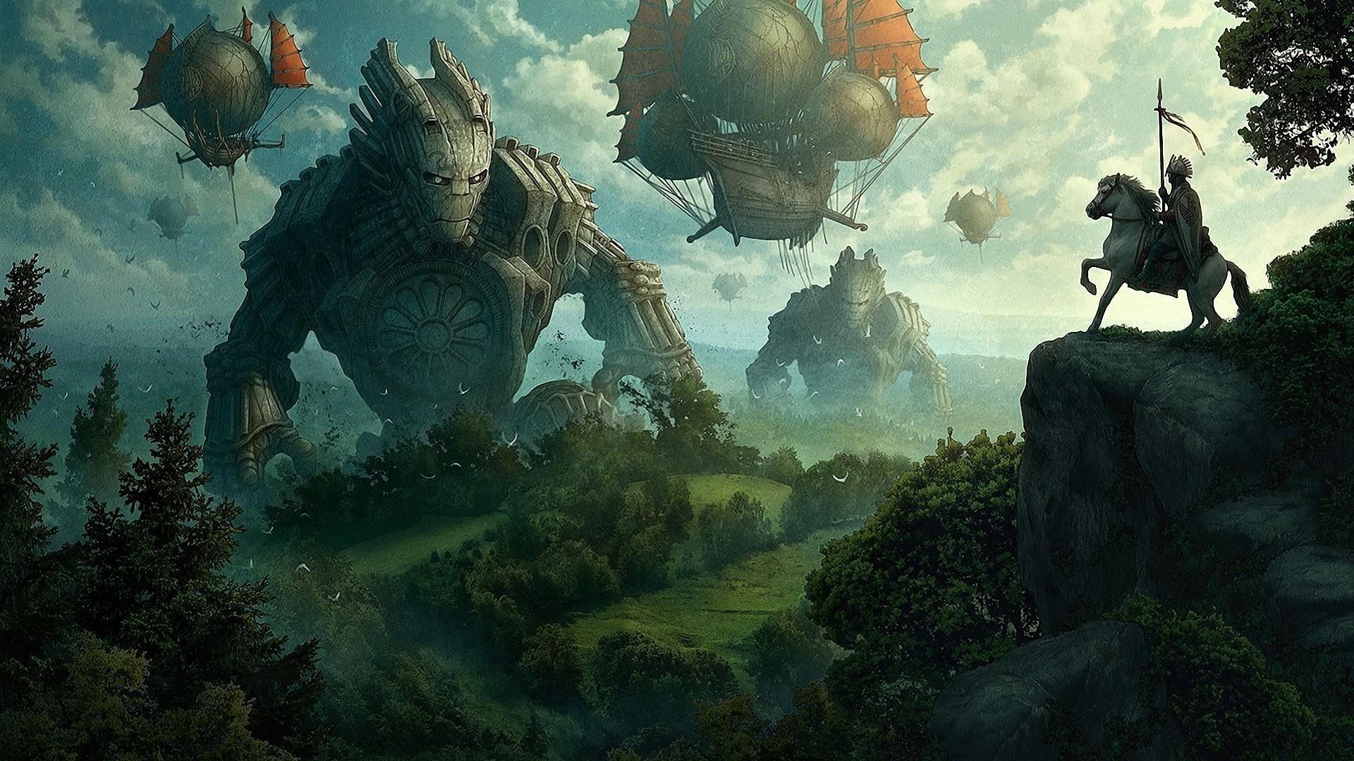 Collosus Mega Monsters Wallpaper