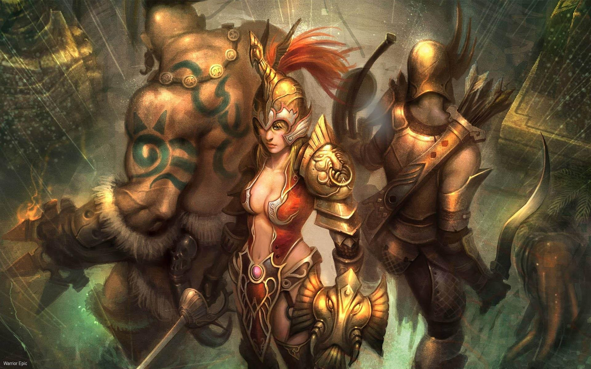 WARRIOR EPIC fantasy mmo rpg fighting online 1weo action wallpaper |  | 619522 | WallpaperUP