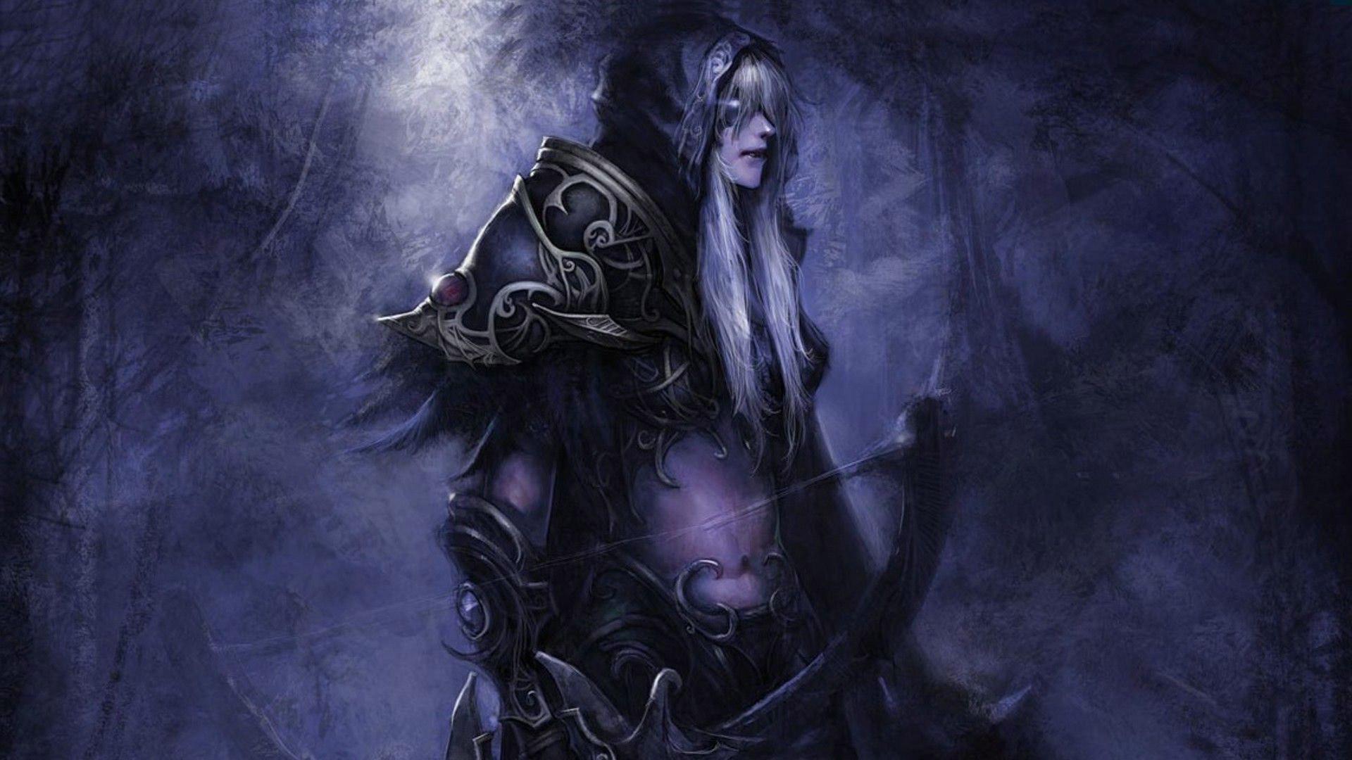 Night elf – World of Warcraft HD Wallpaper 1920×1080