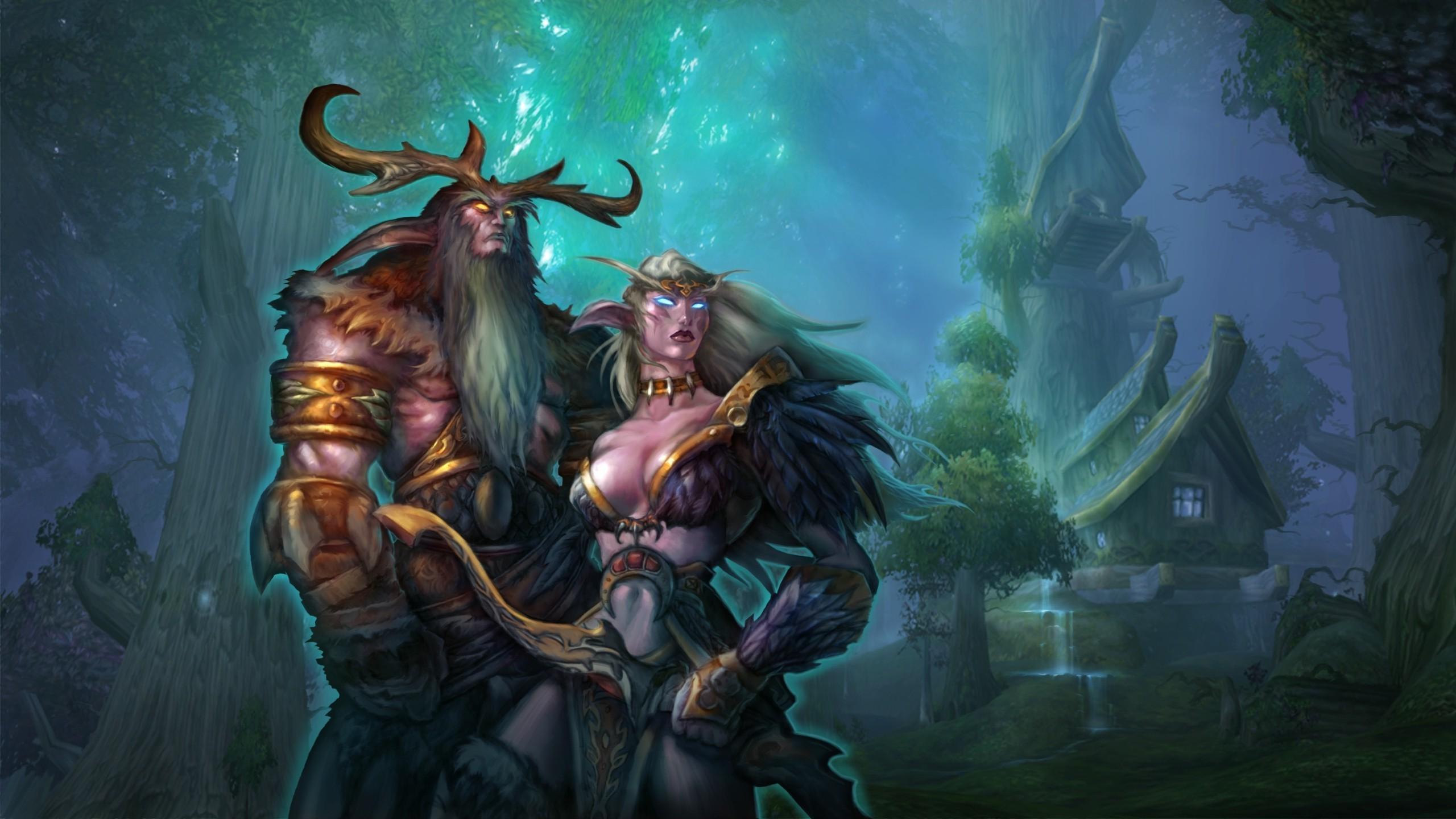 elves, Night Elves, World Of Warcraft, Fantasy Art, Malfurion Wallpapers HD  / Desktop and Mobile Backgrounds