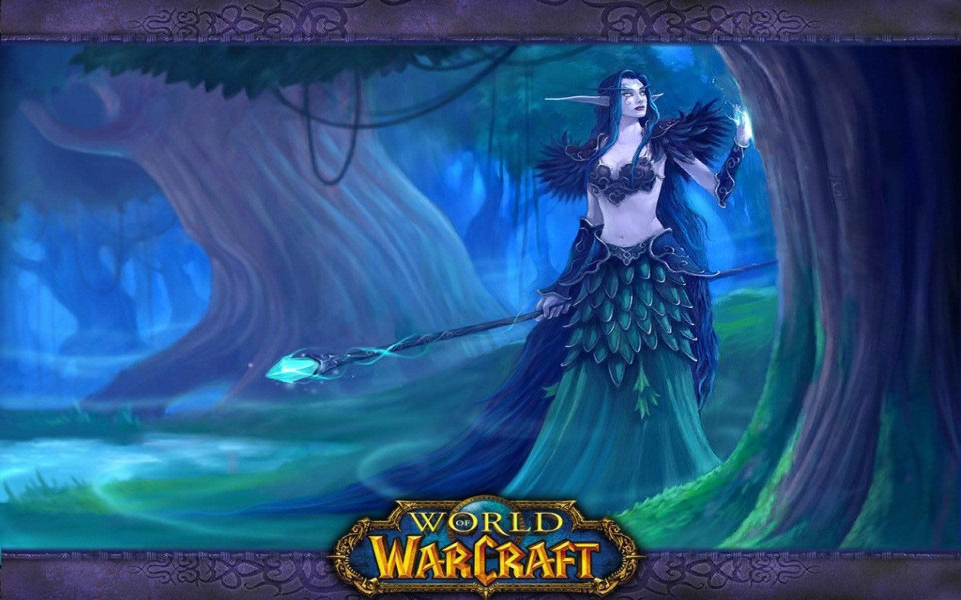World Of Warcraft Night Elf …