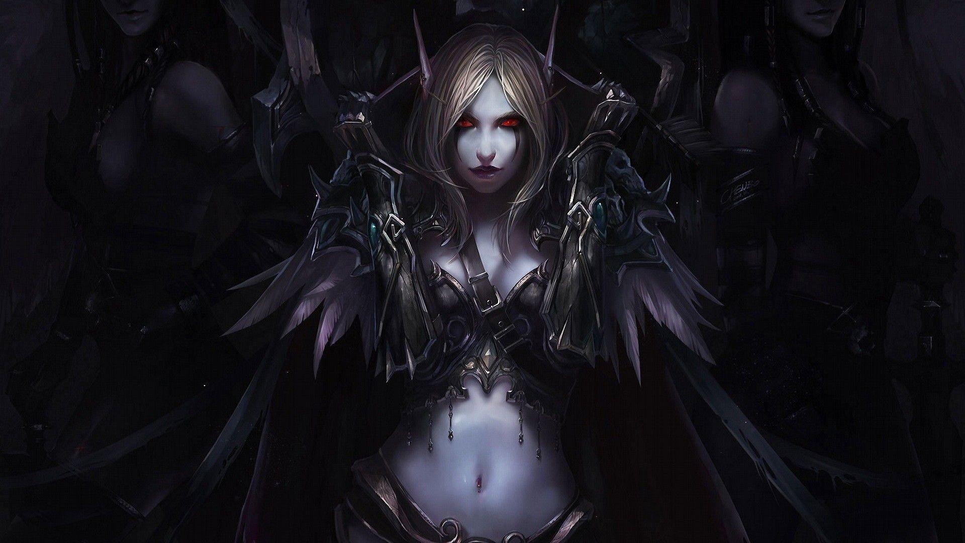 General World of Warcraft Sylvanas Windrunner Chenbo video games elves  Warcraft fantasy art