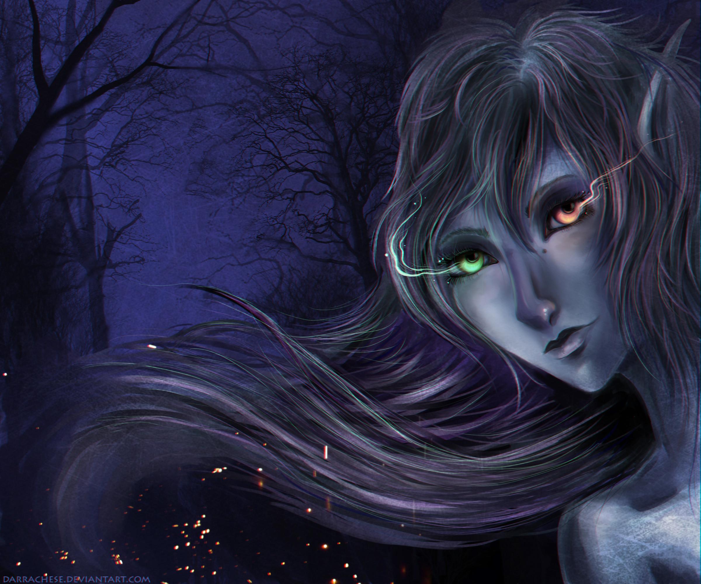 night Elf Wallpaper by DarraChese on DeviantArt
