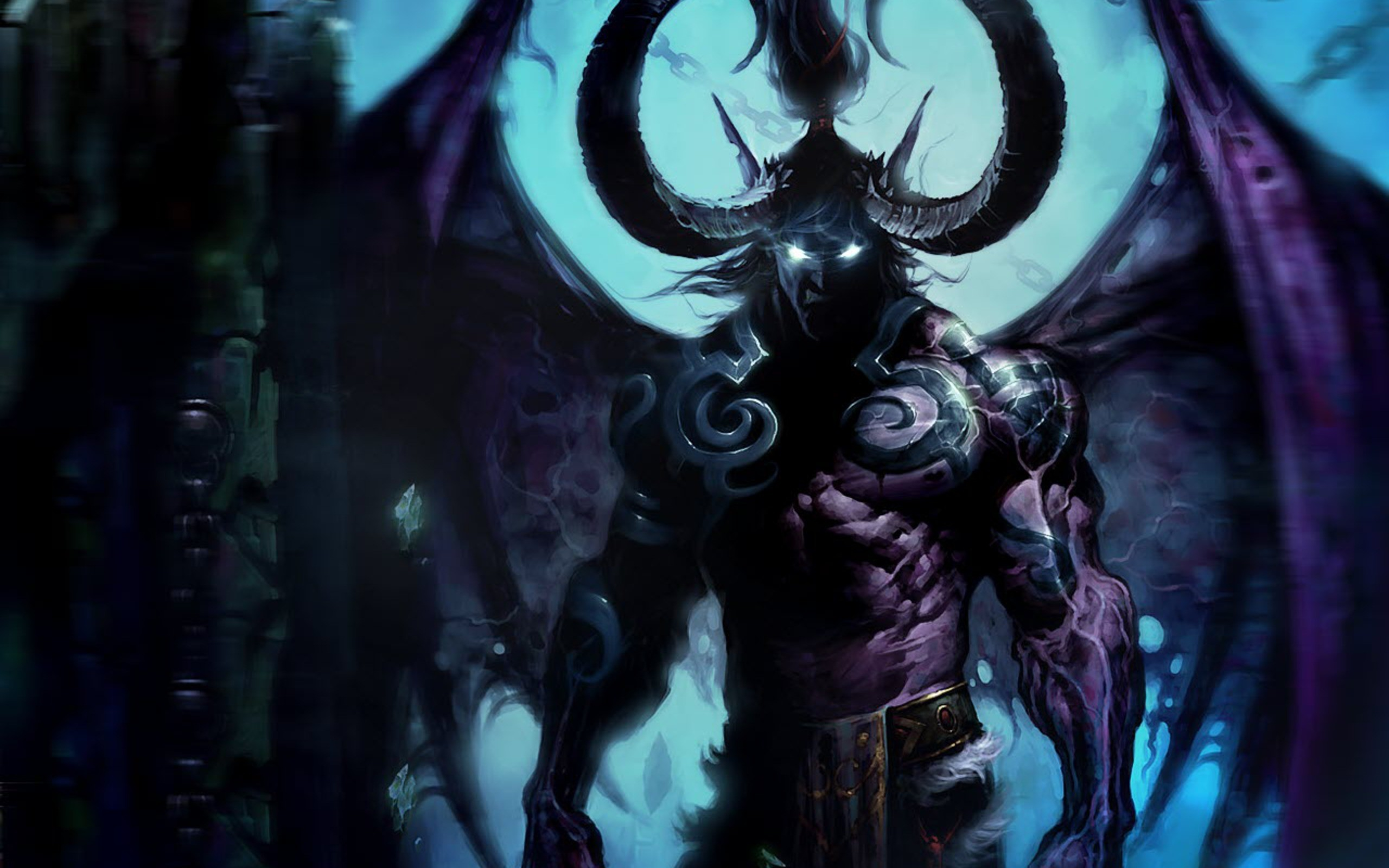 Demon Wallpaper by Slavasan Lynam on FL | Fantasy HDQ | 420.78 KB