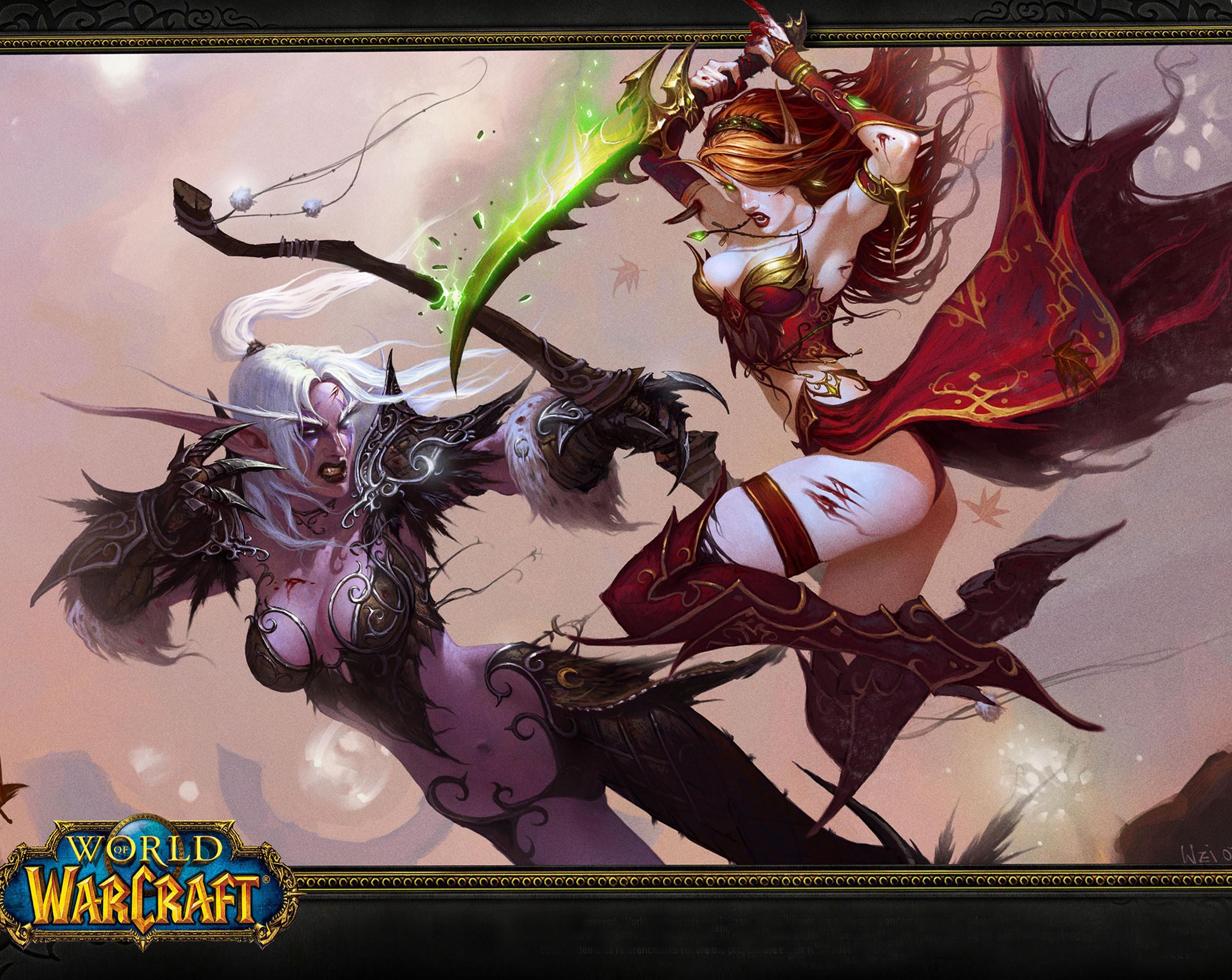 Night Elf vs Blood Elf