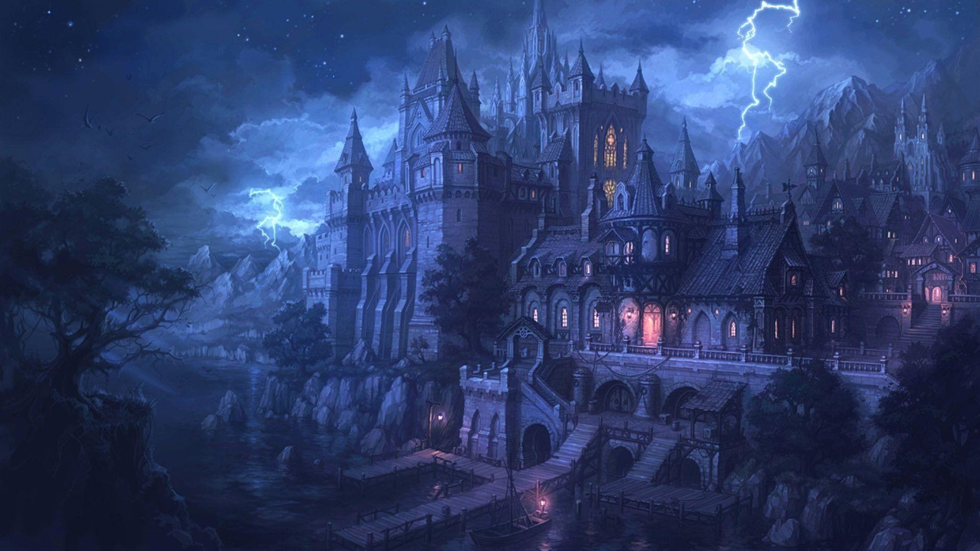 0 Fantasy Castle Wallpapers Fantasy Castle Wallpapers
