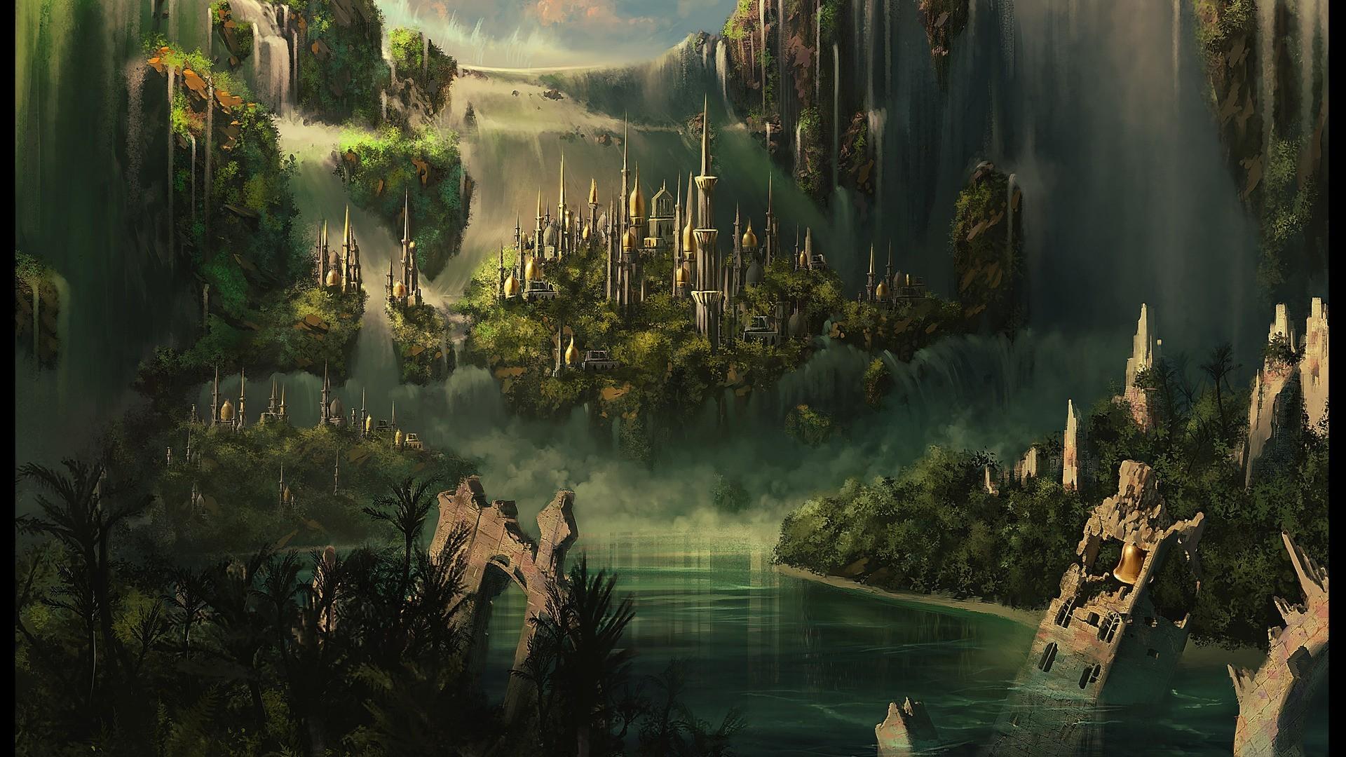 Castle Fantasy Wallpaper #9736 Wallpaper | Wallpaper hd