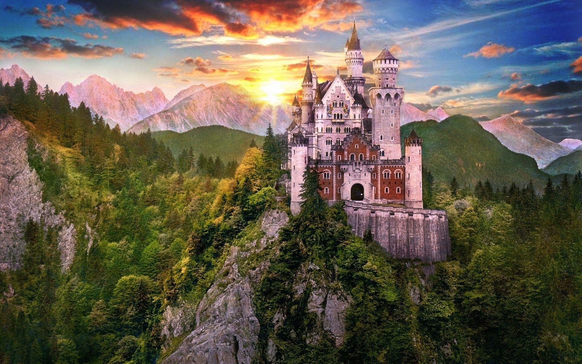 74 Fantasy Castle Wallpaper Hd