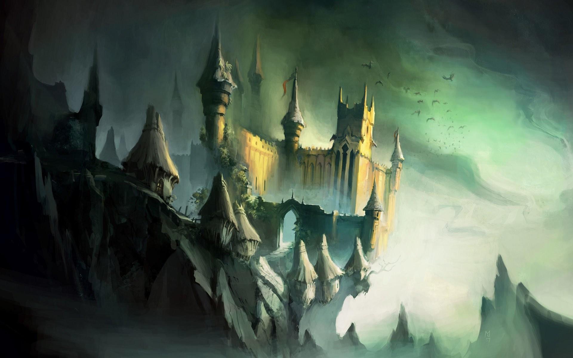 HD Wallpaper | Background ID:114446. Fantasy Castle