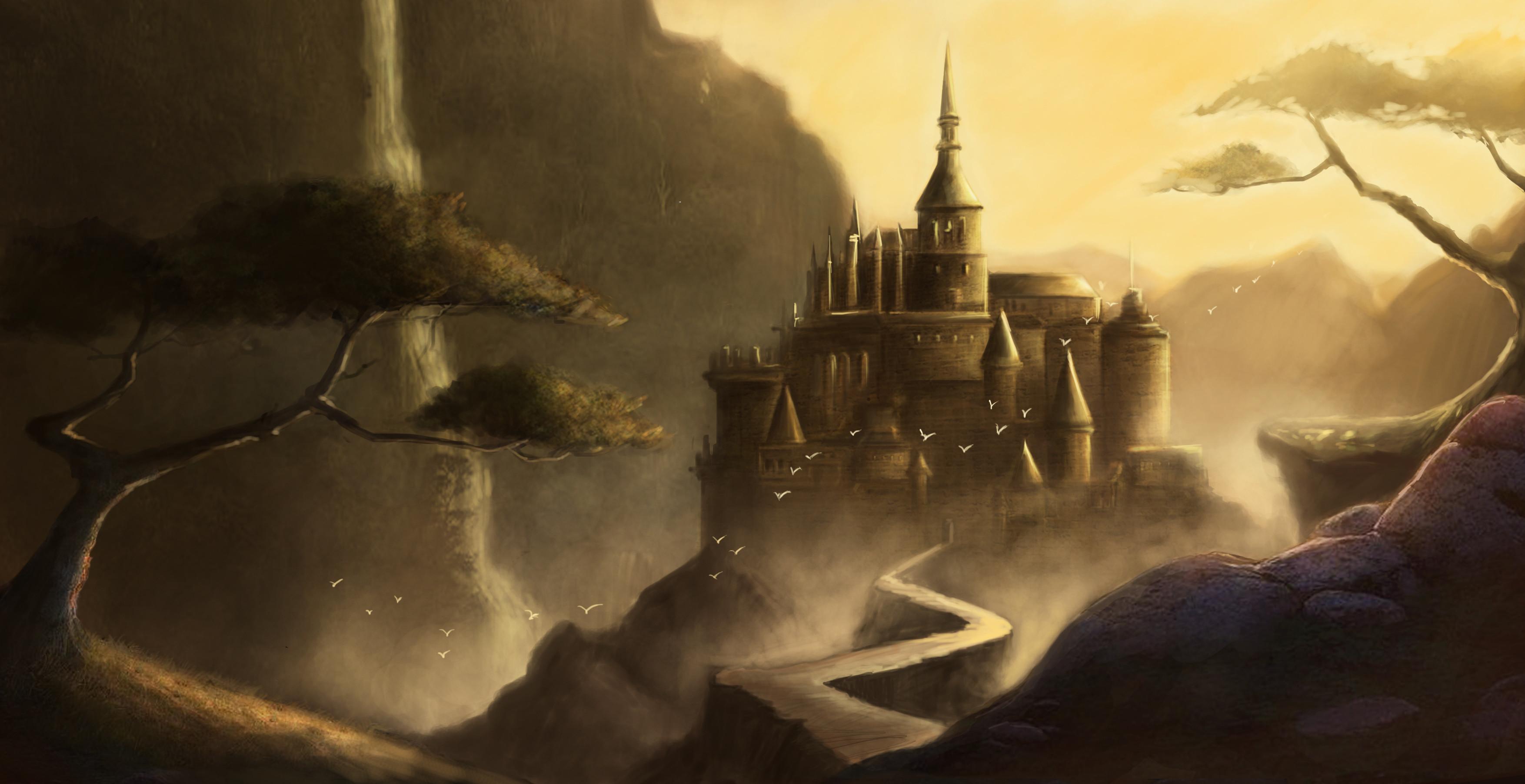 HD Wallpaper | Background ID:246423. Fantasy Castle