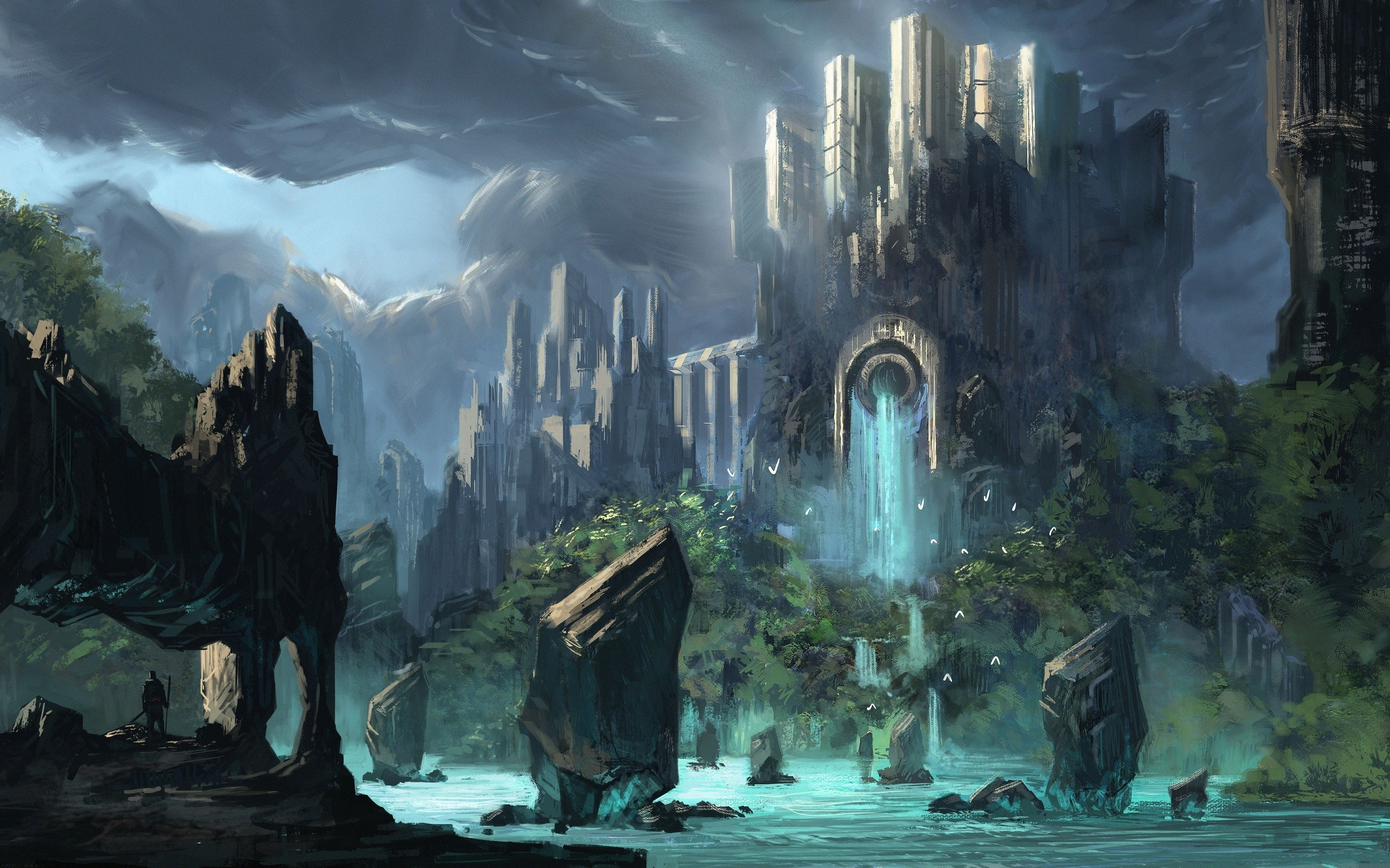 HD Wallpaper | Background ID:362163. Fantasy Castle