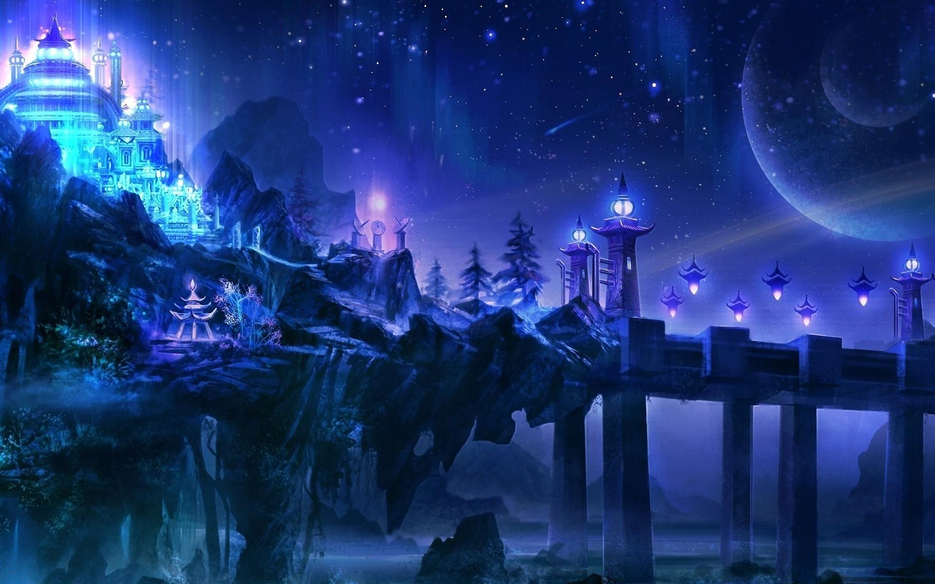Fantasy Landscape Castle Wallpapers HD