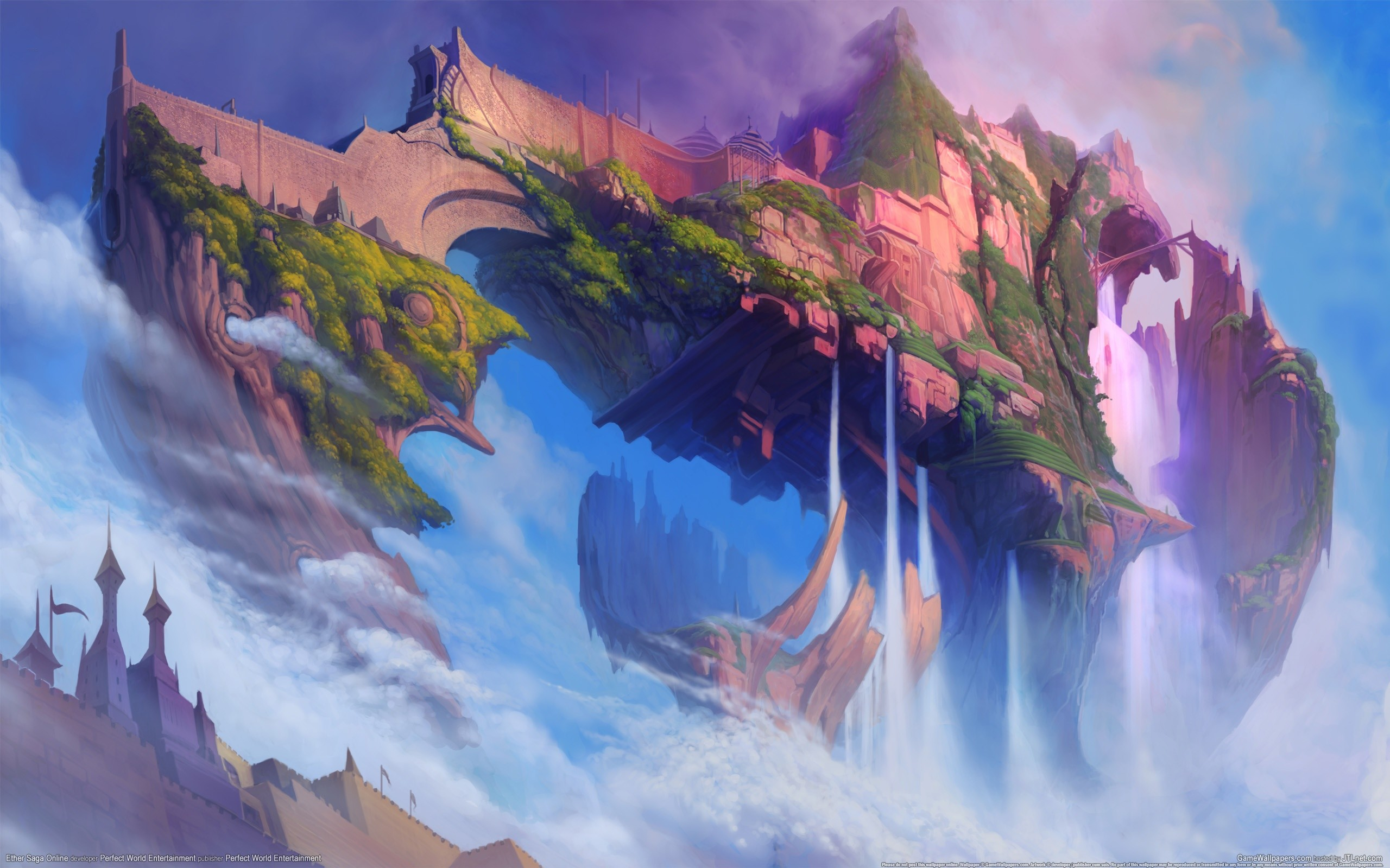 HD Wallpaper | Background ID:203477. Fantasy Castle