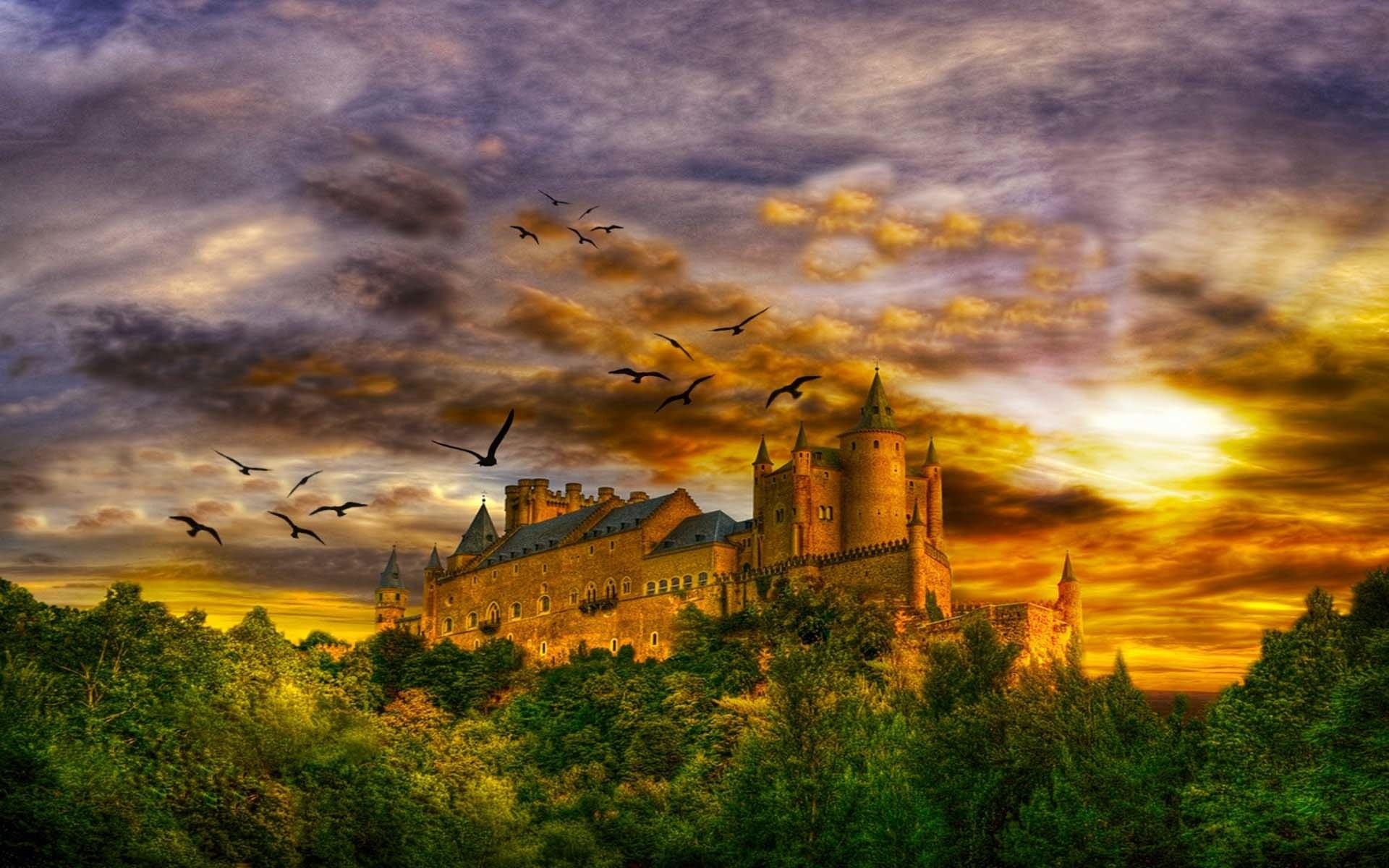 HD Wallpaper | Background ID:115793. Fantasy Castle