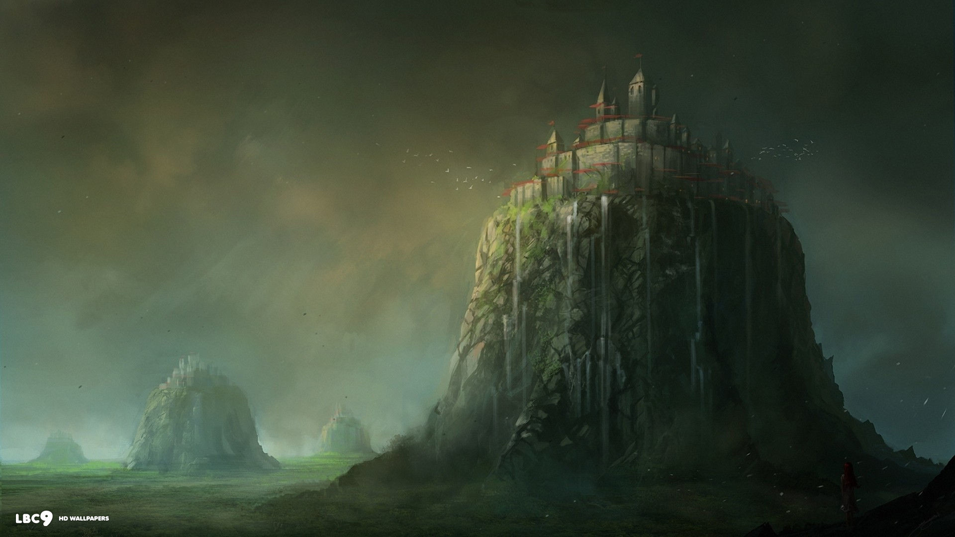 castles fantasy art