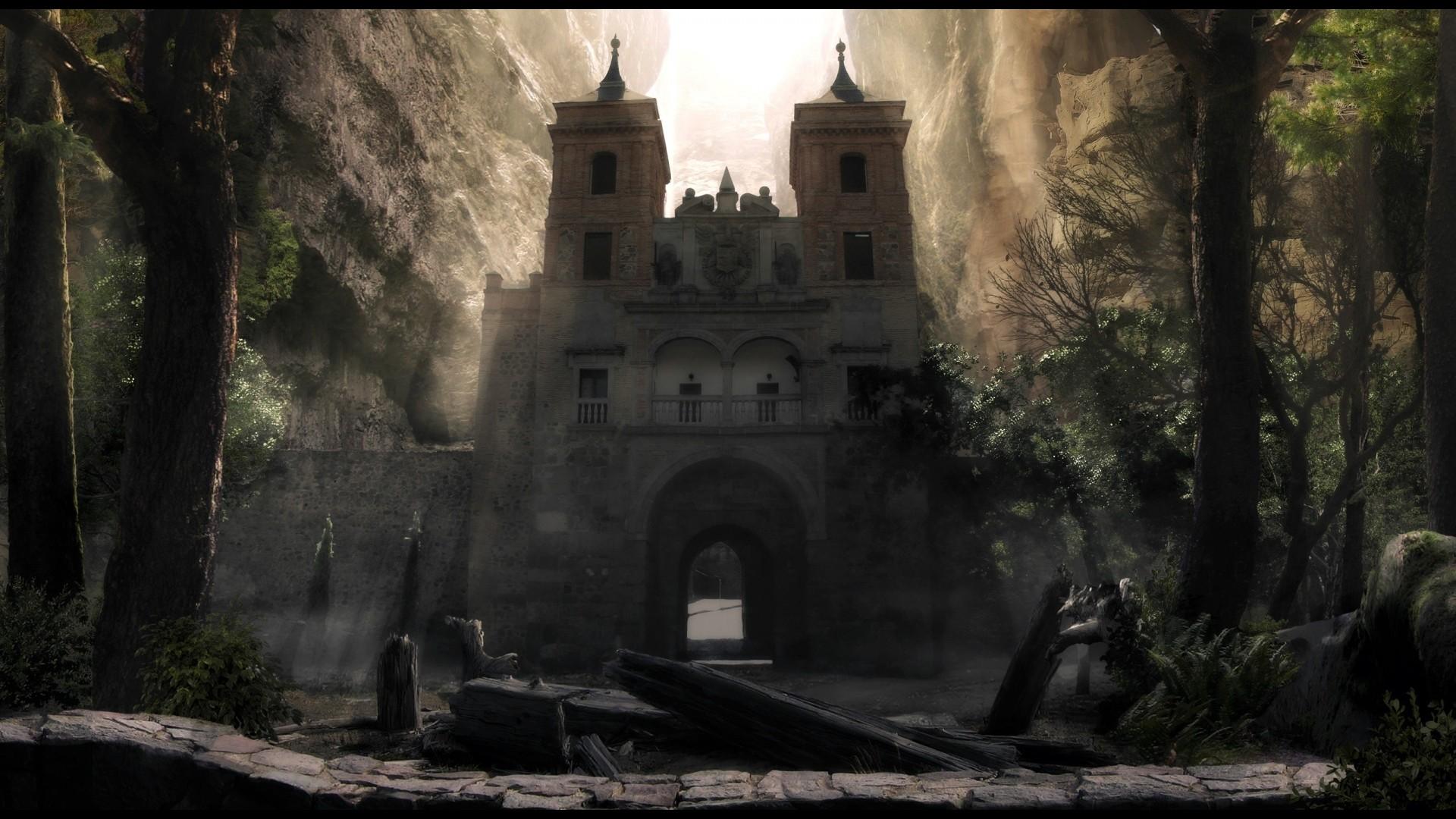 … Fantasy Castle 1080p Wallpaper
