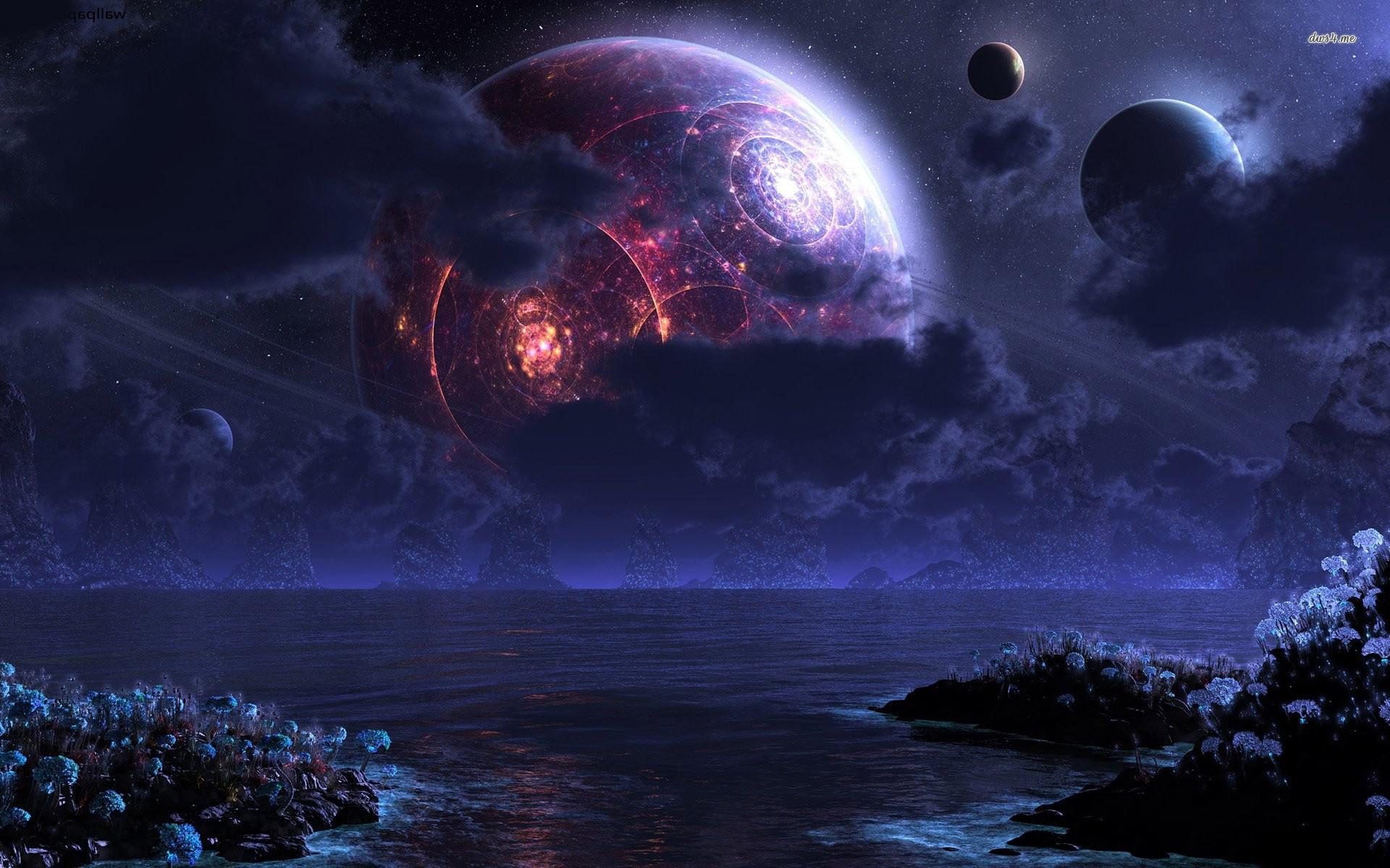 Strange planet wallpaper – Fantasy wallpapers – #13854