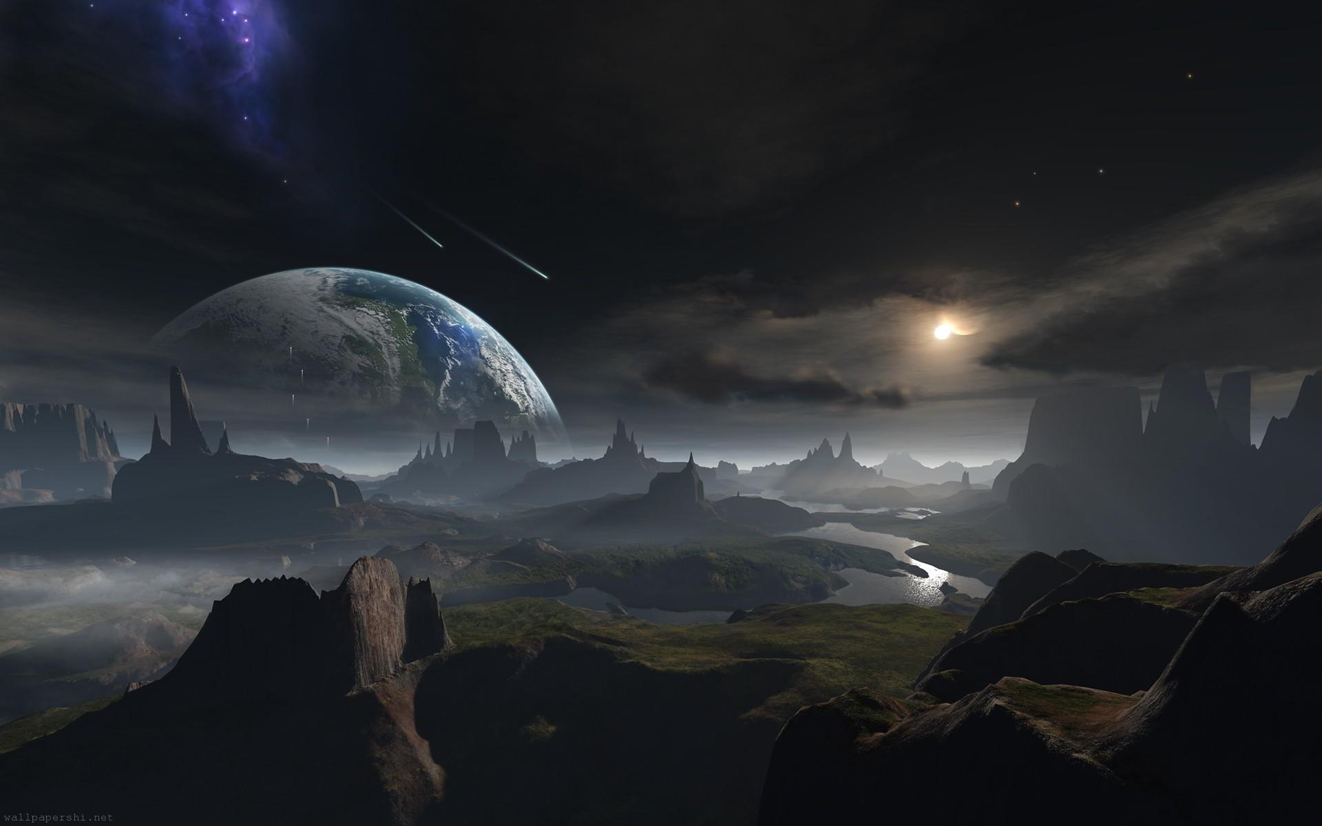 Fantasy Planets Landscape – Pics about space
