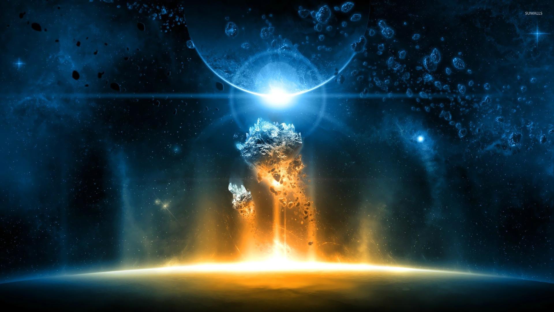 Planets & Asteroids wallpaper jpg