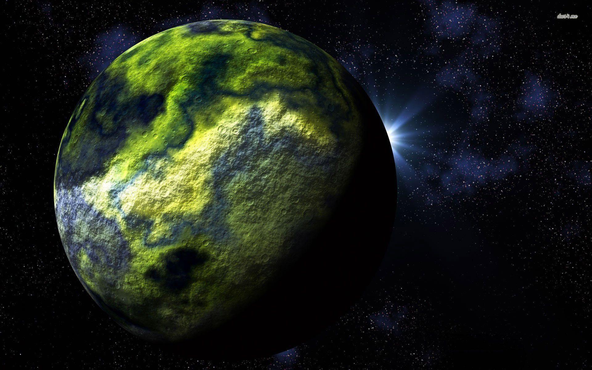 Green planet wallpaper – Fantasy wallpapers – #