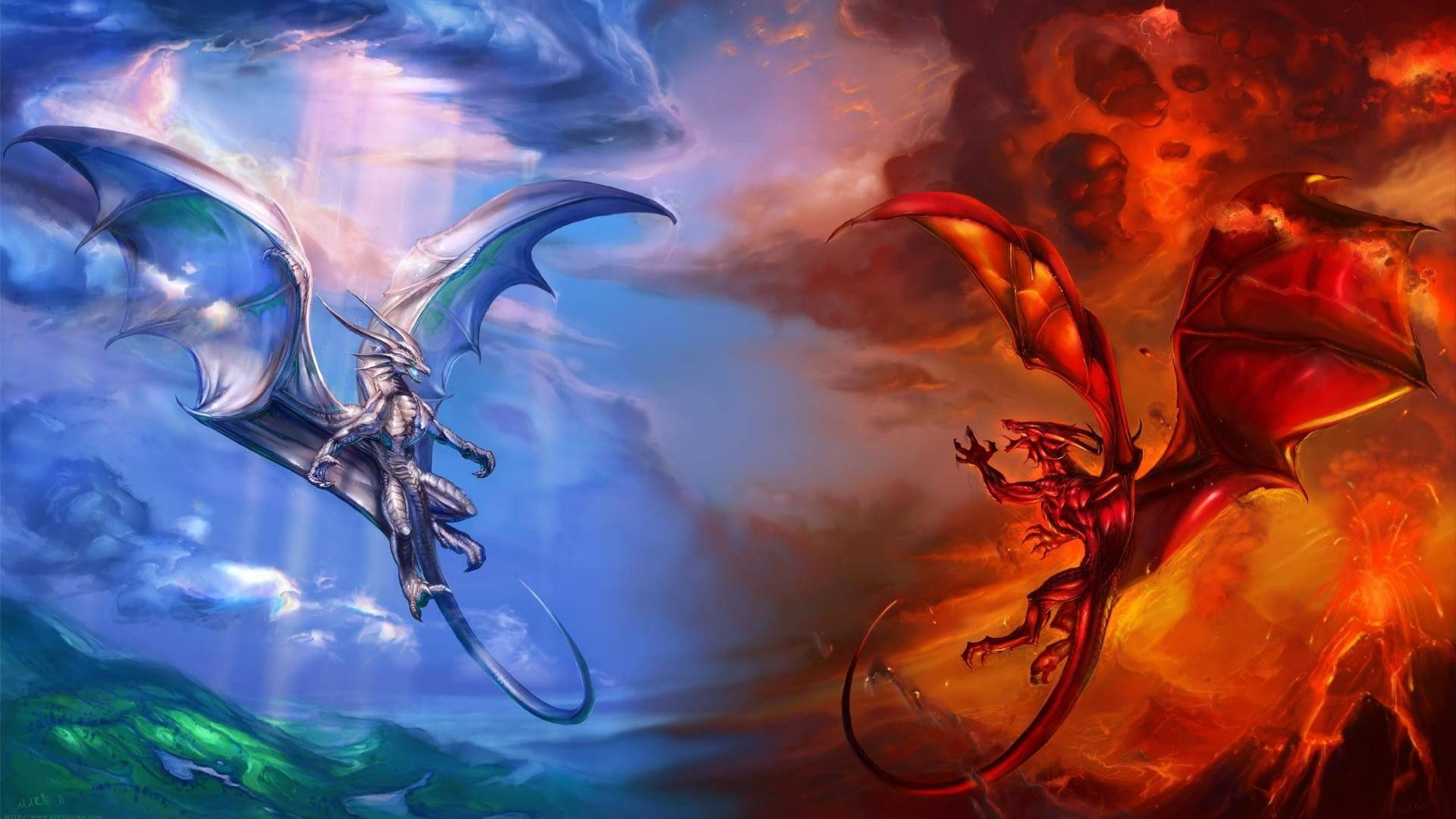 Fire Dragon Wallpapers Wallpaper 1920×1200 Dragon Backgrounds For Desktop  (46 Wallpapers) |