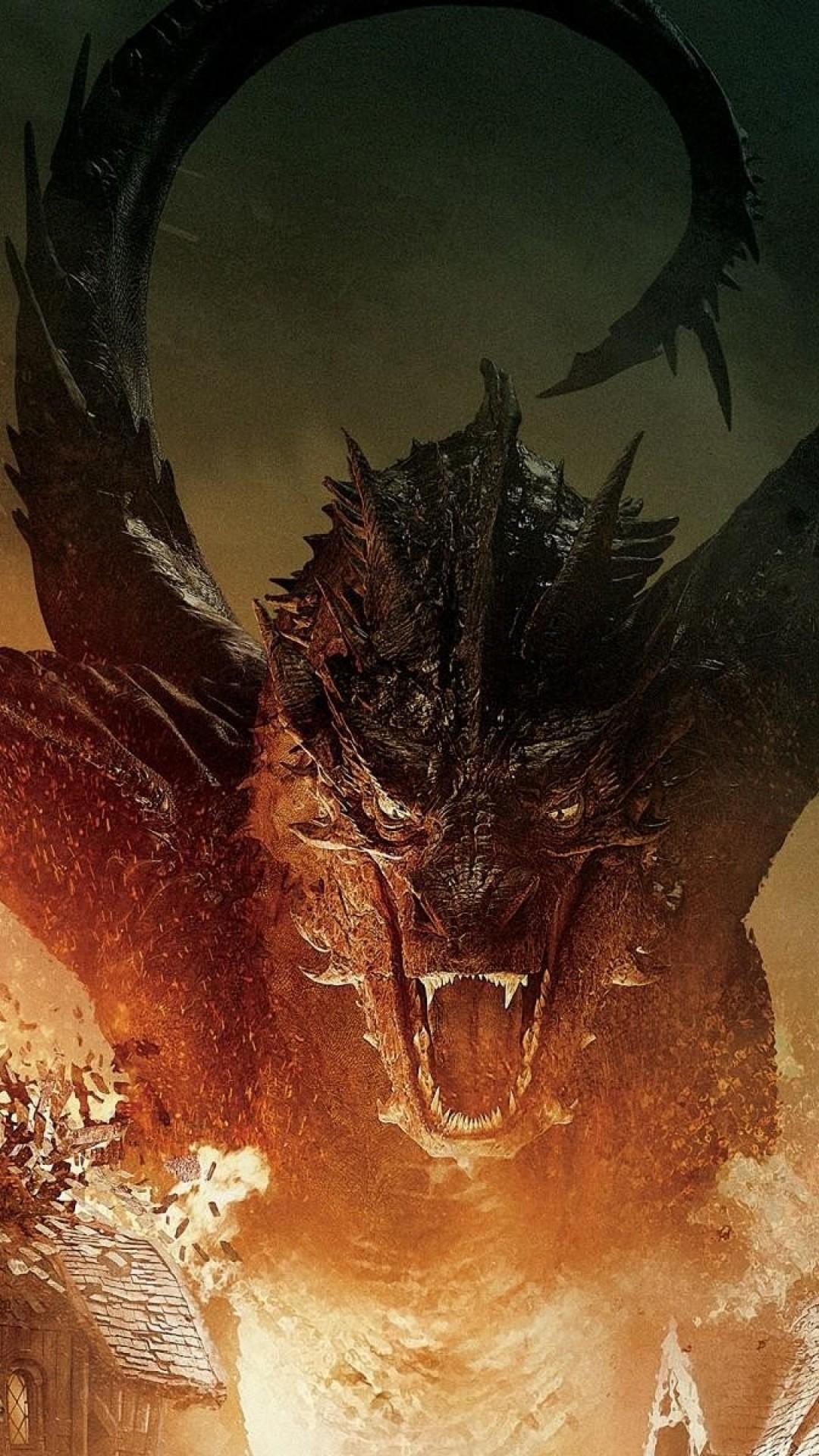 The Hobbit, Smaug, Dragon, Fire