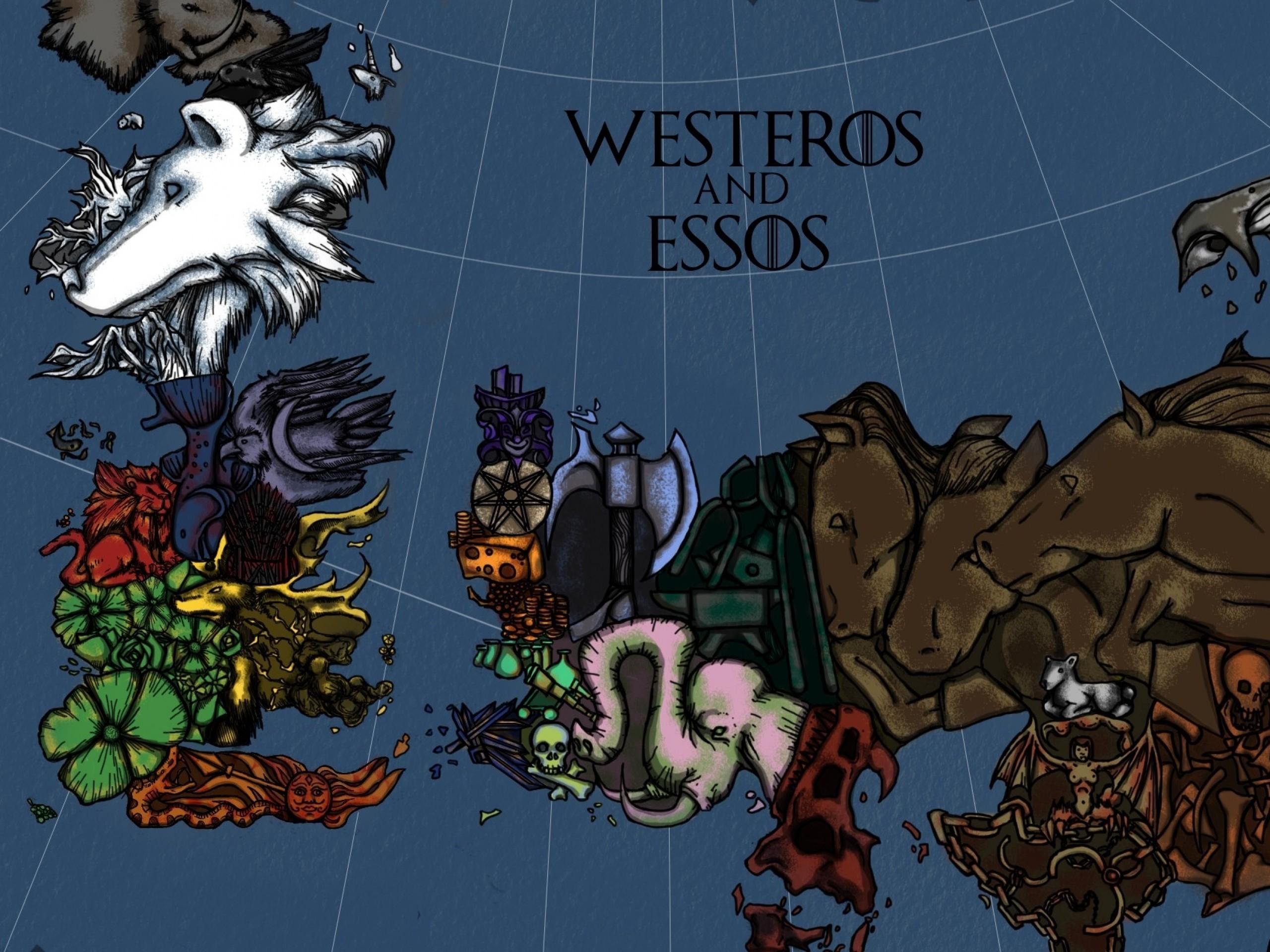 Maps game of thrones tv seri