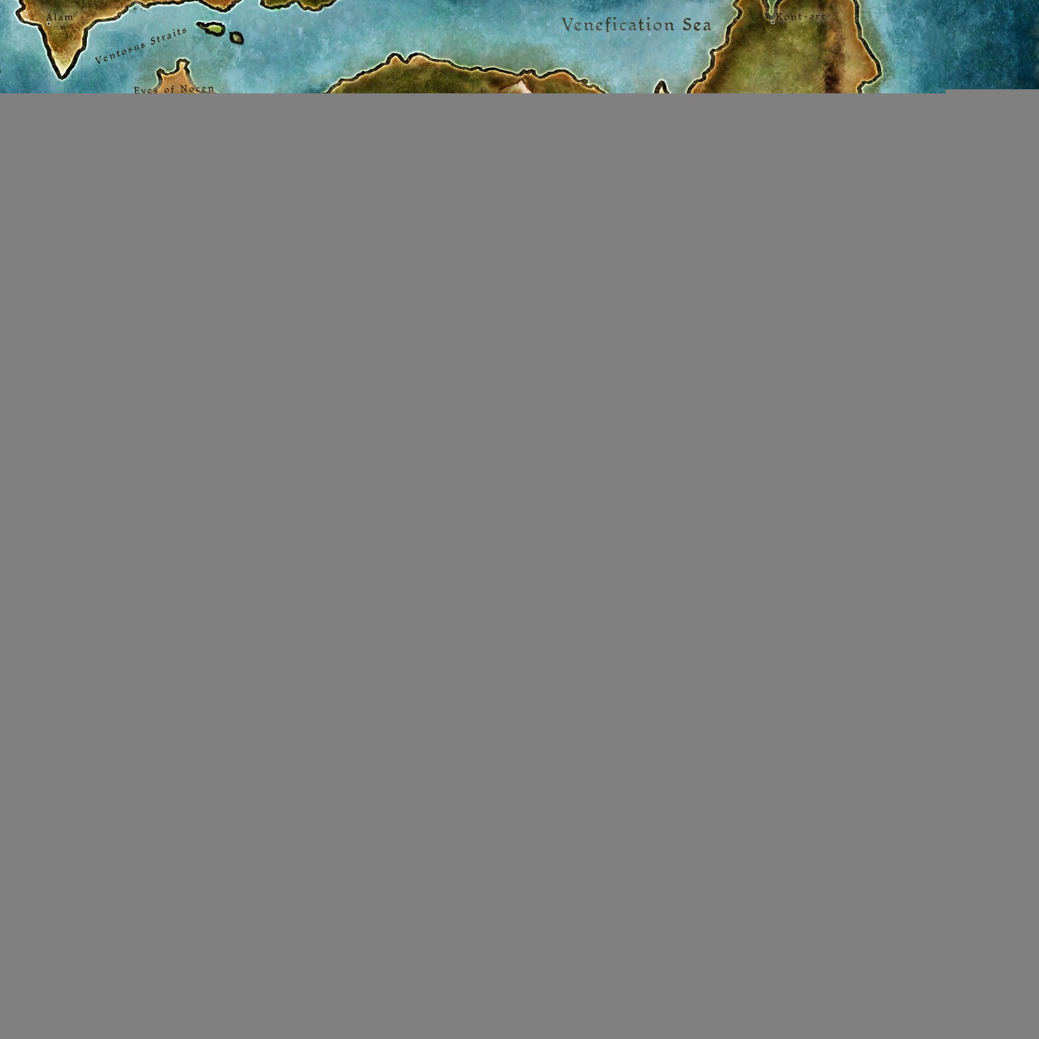 1834 1: Dragon Age 2 Map iPad wallpaper