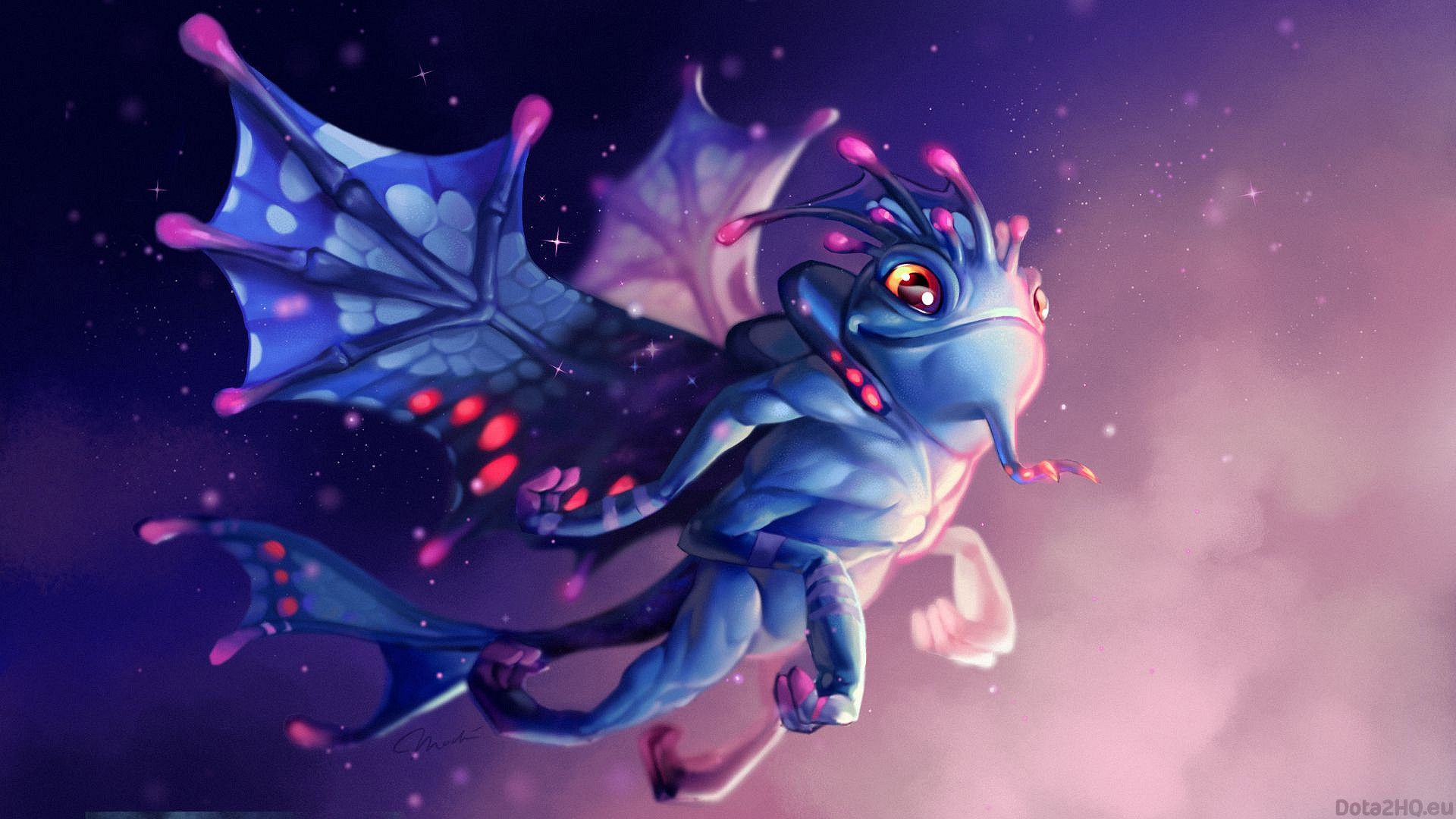 Puck, the Faerie Dragon (Eternal Nymph)