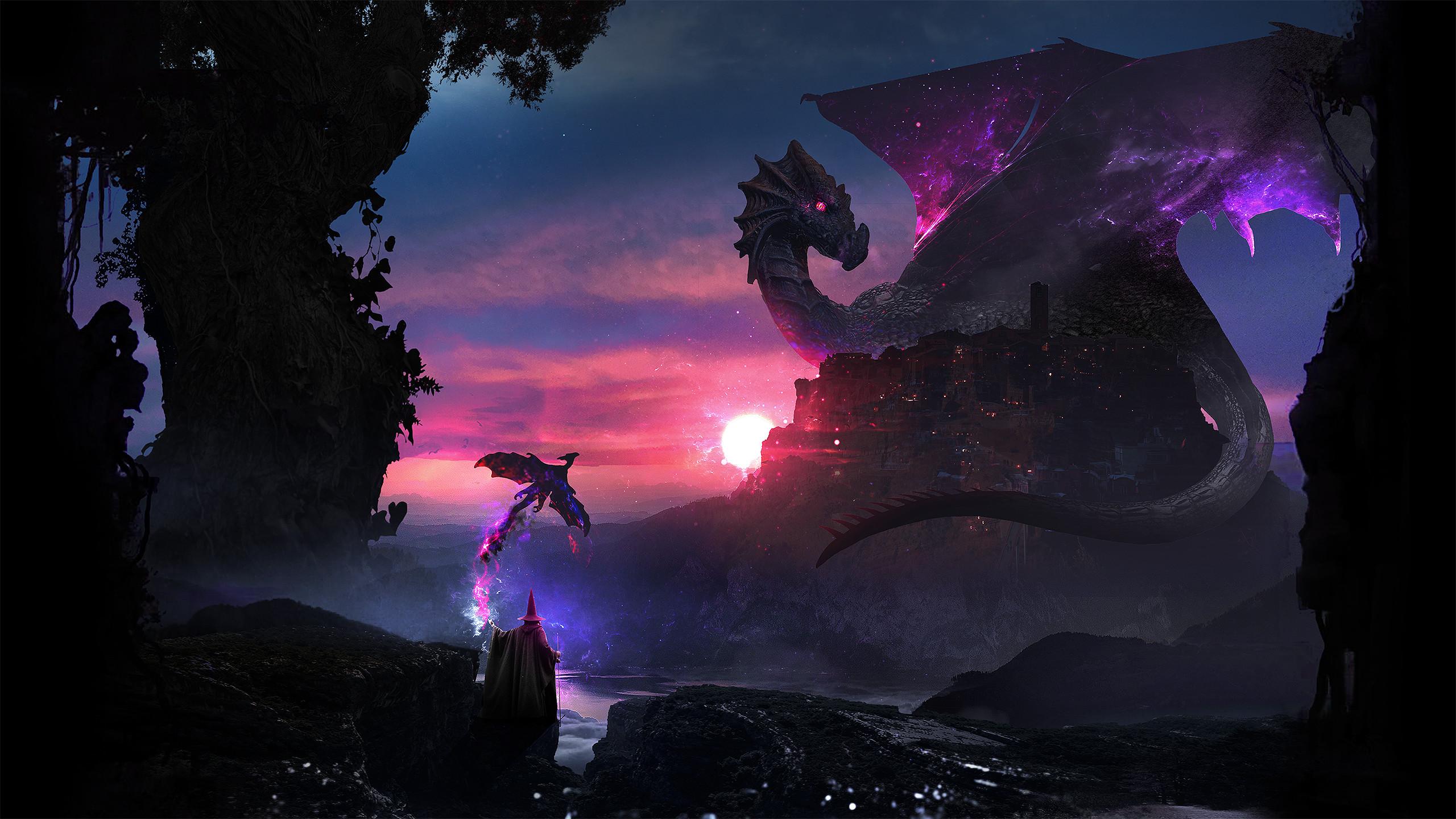 Creative Graphics / Dragons Wallpaper