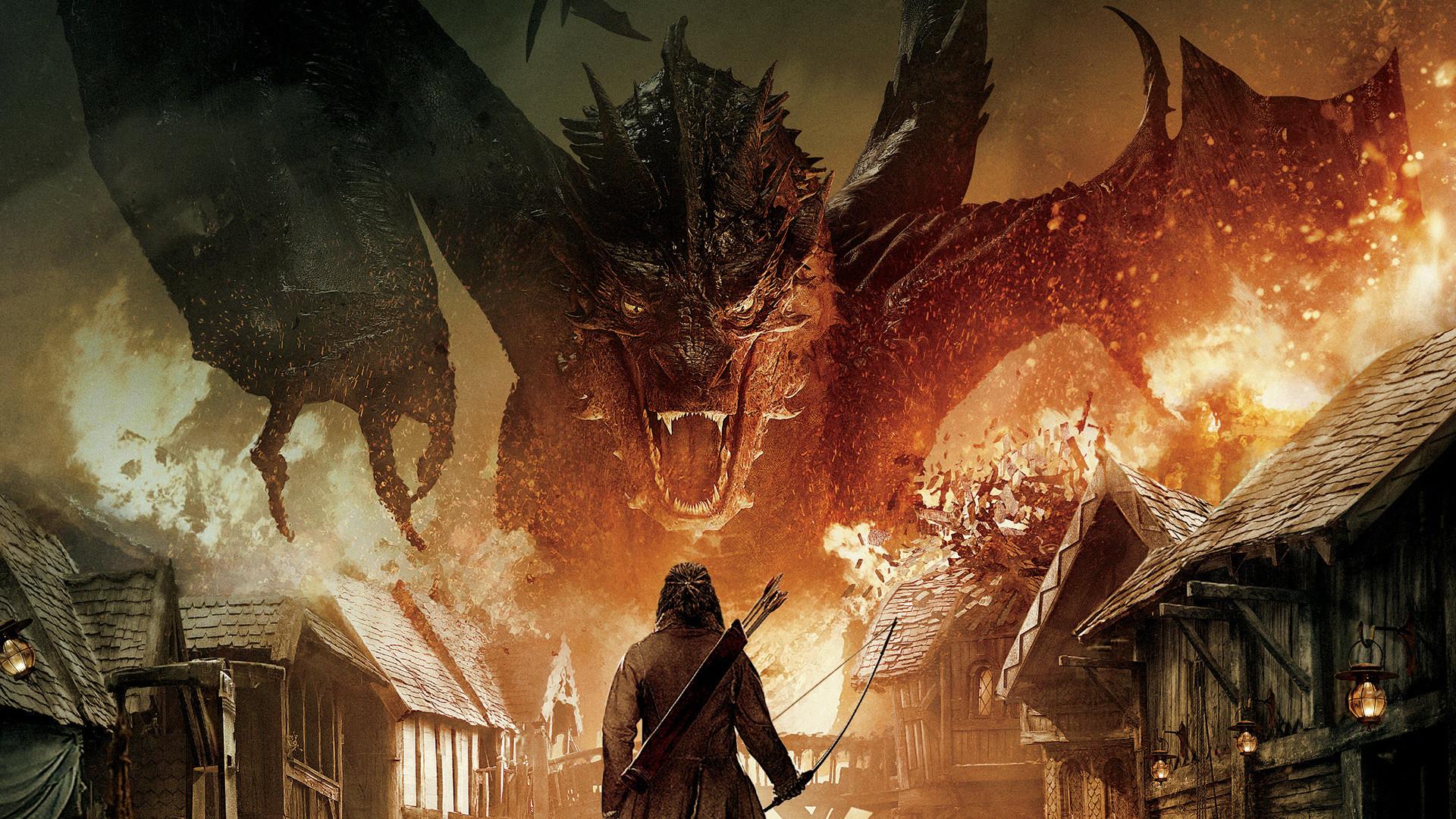 Hobbit Smaug Wallpaper